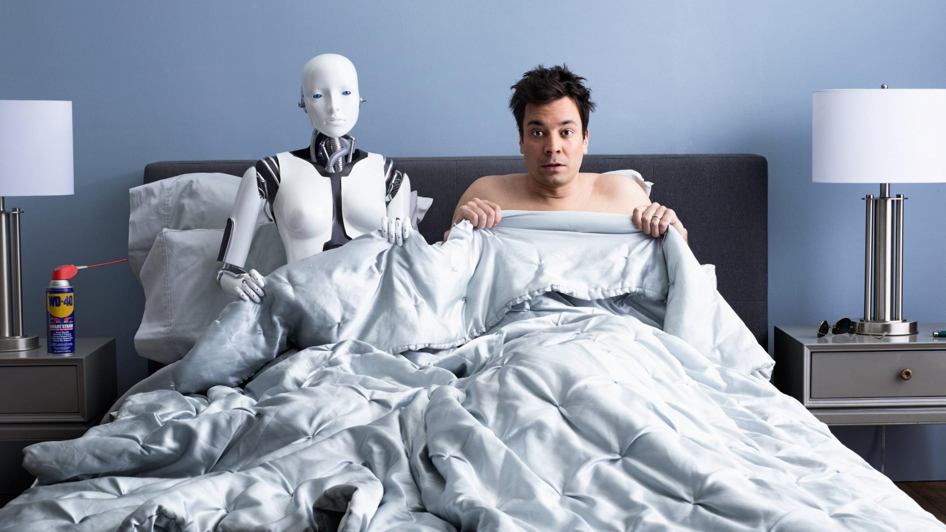 Bedroom beds funny jimmy fallon men wallpapers