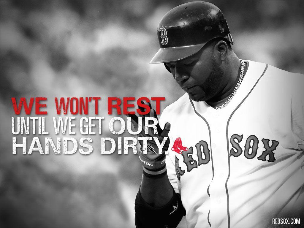 We Won't Rest | Boston Red Sox