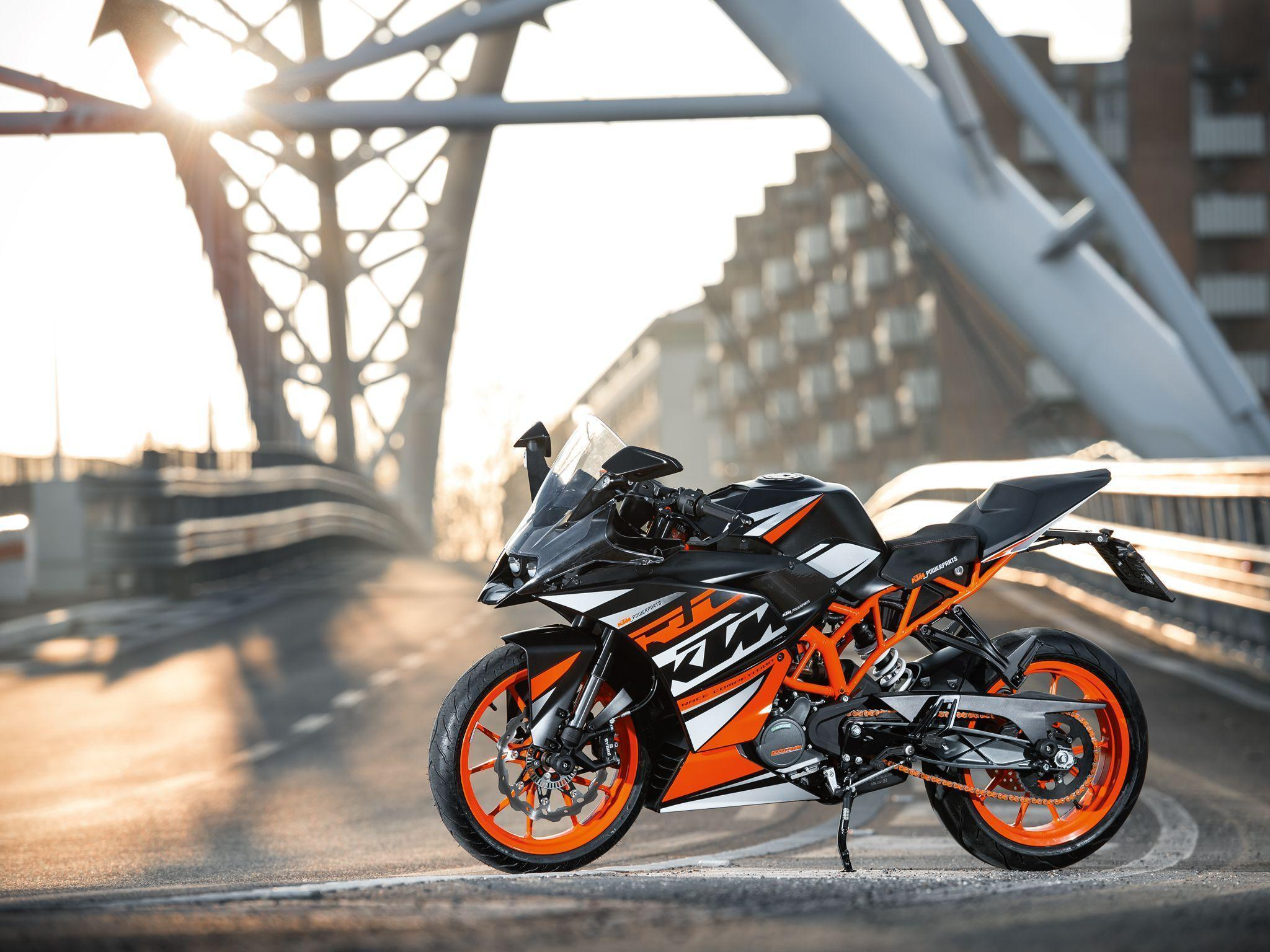 Ktm Rc 200 Bike Wallpapers Wallpaper Cave