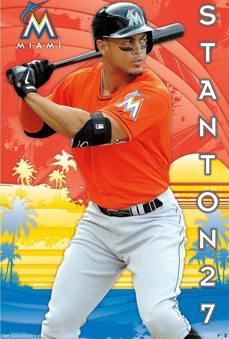 OF Giancarlo Stanton and P Jose Fernandez | MLB Miami Marlins ...