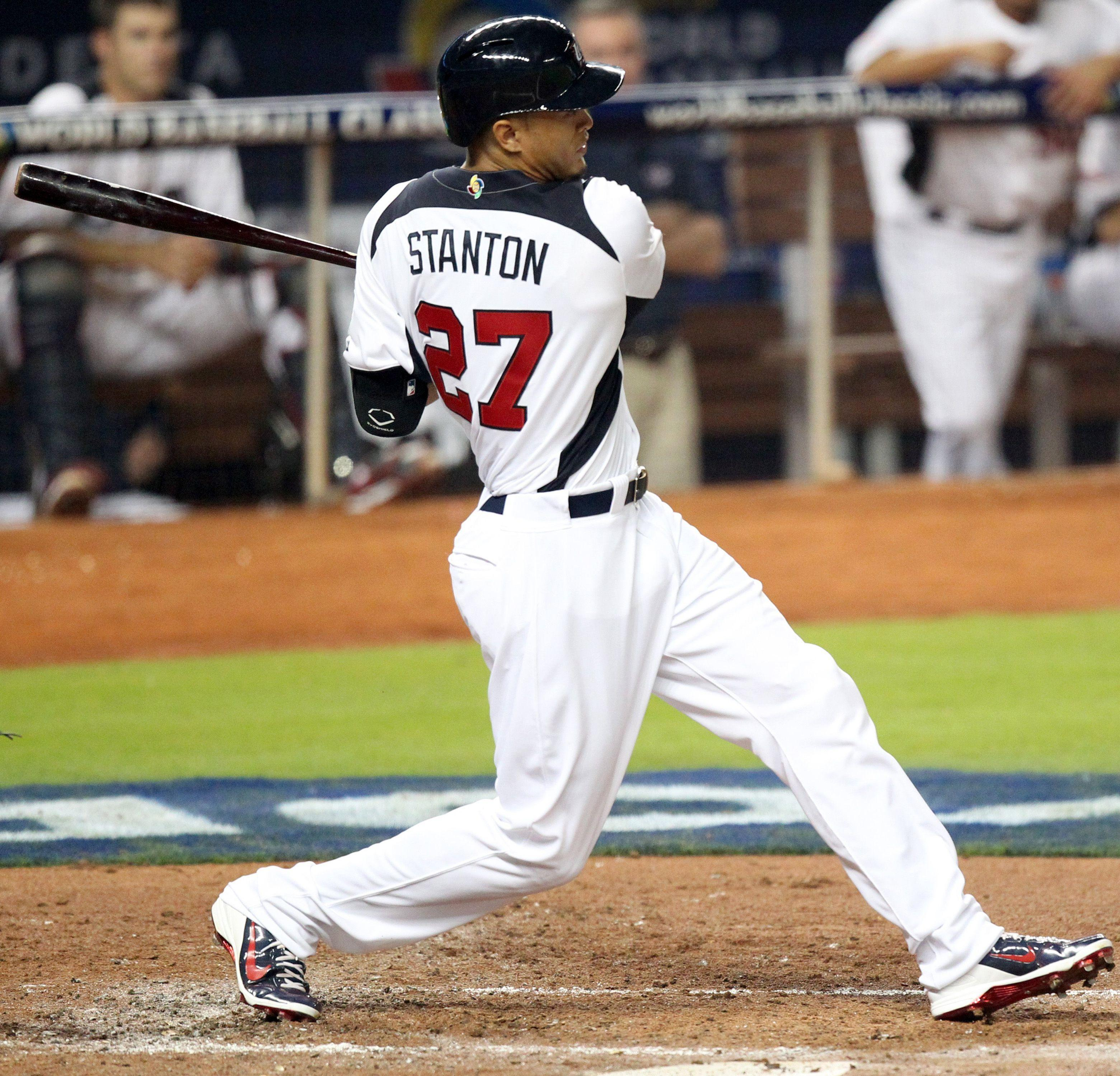 Giancarlo Stanton Batting Stance- #images