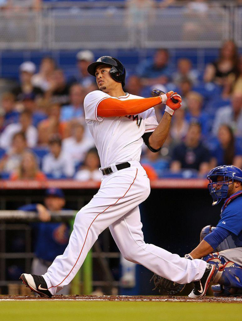 Giancarlo Stanton in Chicago Cubs v Miami Marlins - Zimbio