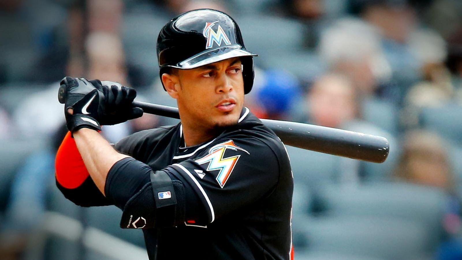 Giancarlo Stanton Agrees to Record-Setting MLB Deal - YouTube