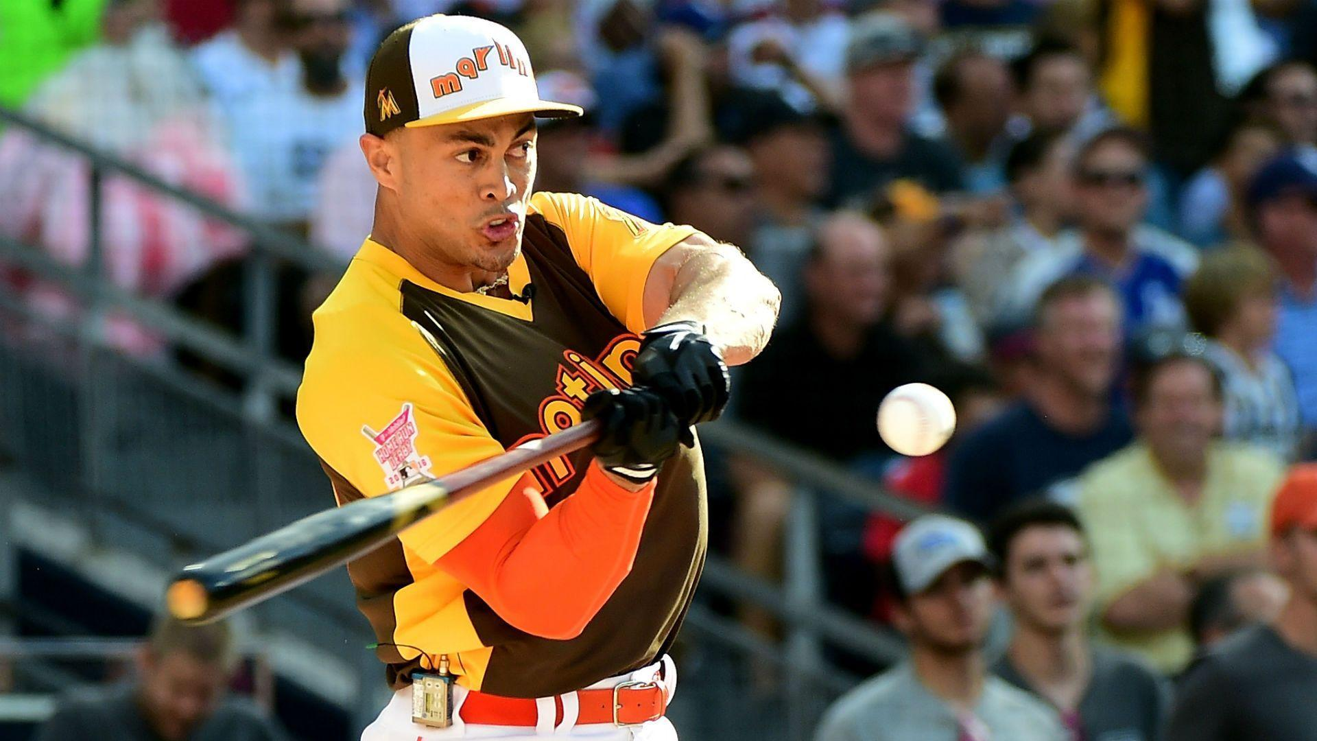 Giancarlo Stanton, not Aaron Judge, is top seed for Home Run Derby ...