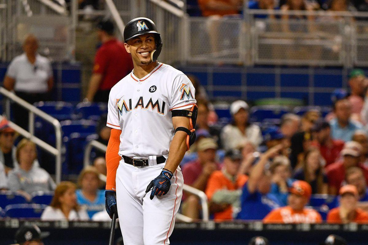 Giancarlo Stanton wasn't happy after the Marlins lost to rival ...