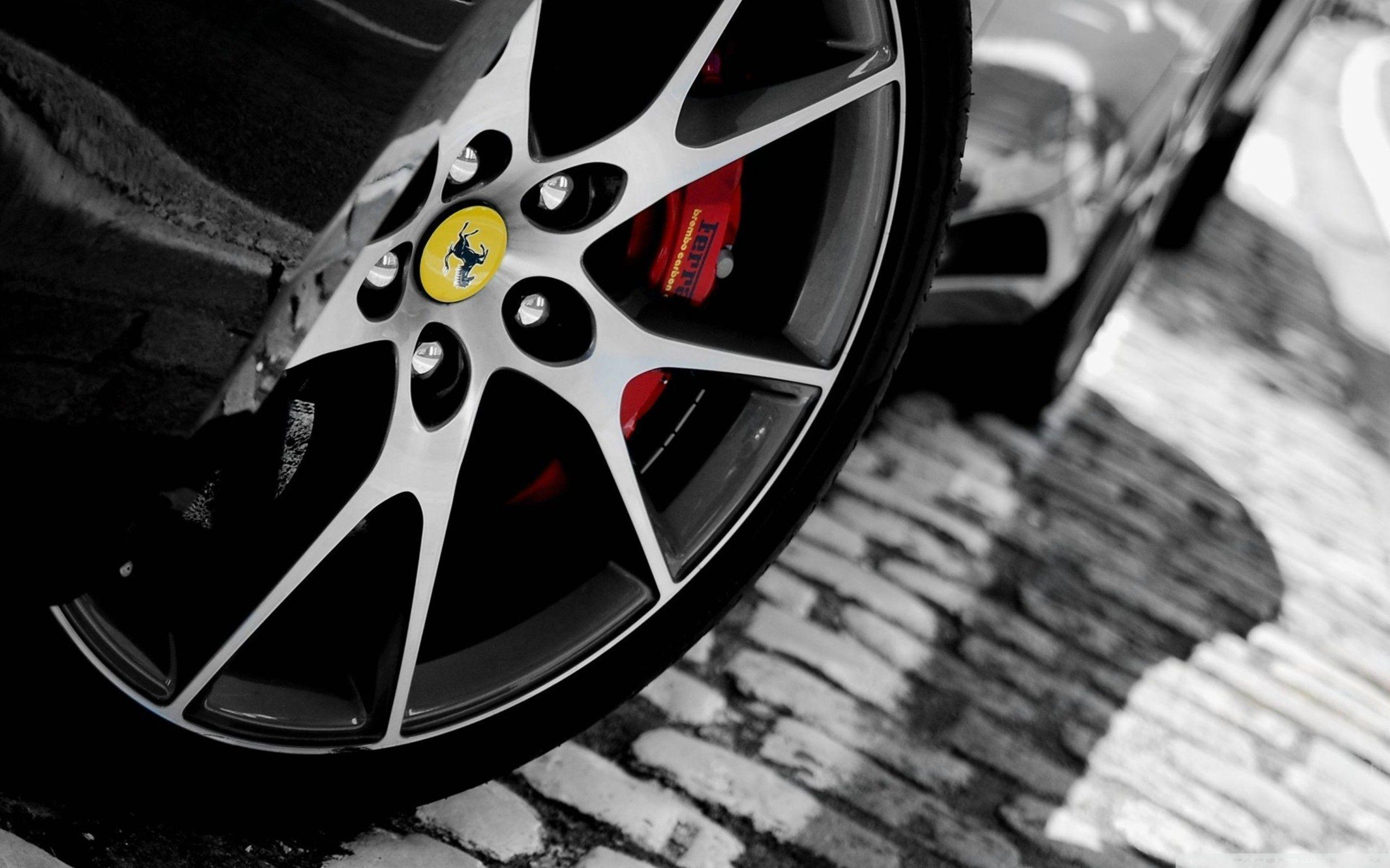 Ferrari Wheel ❤ 4K HD Desktop Wallpapers for • Tablet • Smartphone