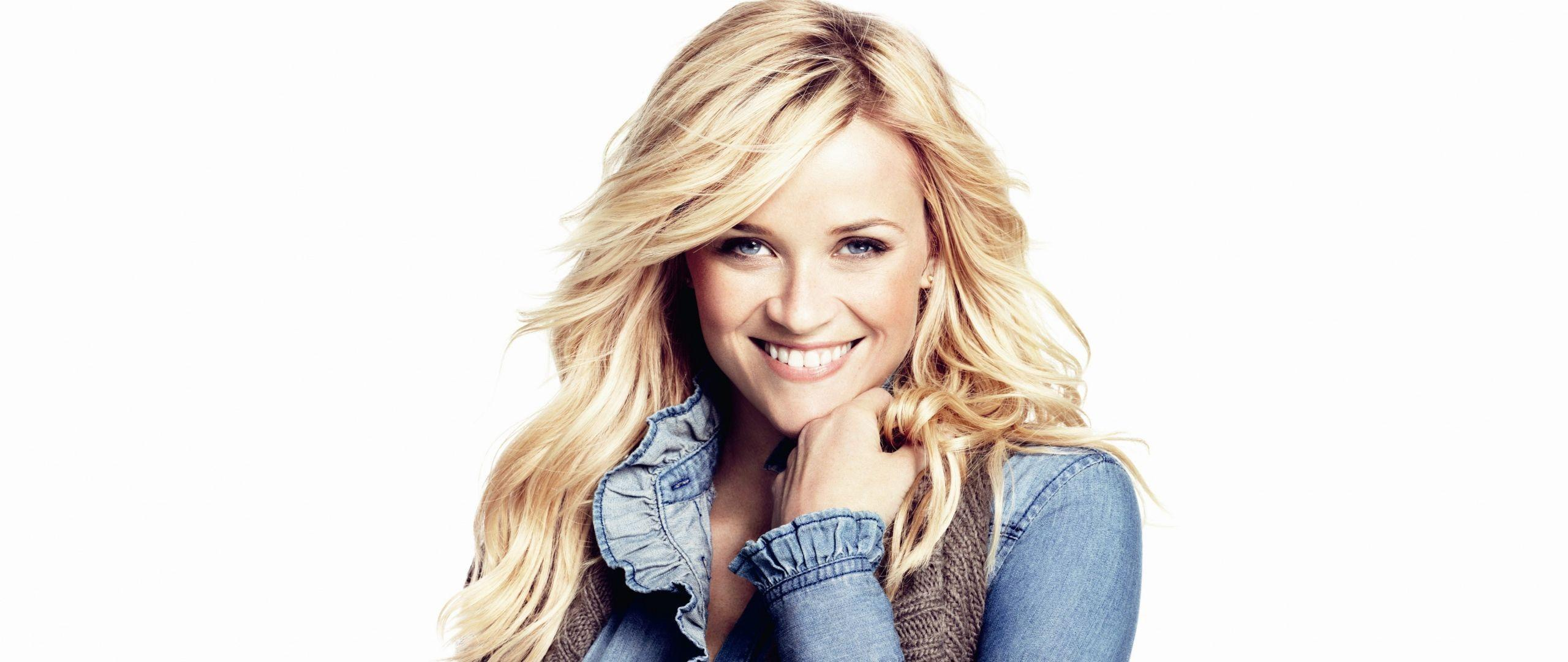 Download Wallpaper 2560x1080 Reese witherspoon, Actress, Model ...