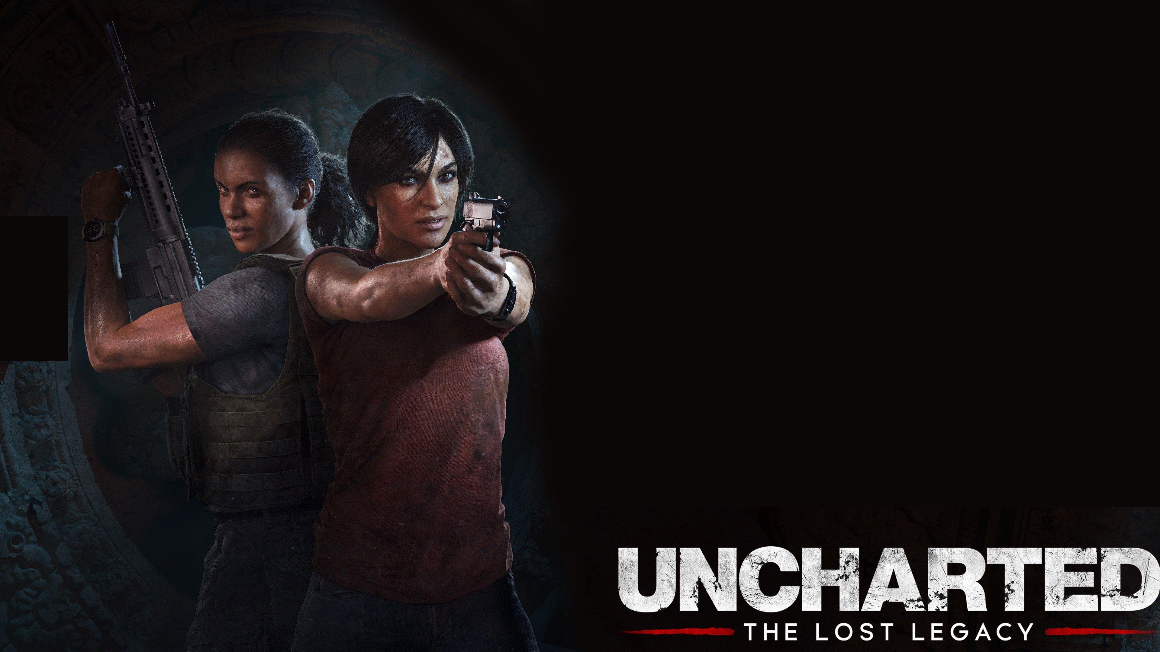 Uncharted The Lost Legacy Wallpapers Wallpaper Cave