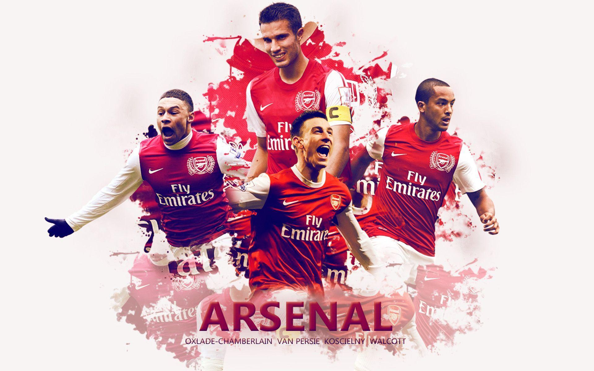 Arsenal Players Wallpapers Wallpaper Cave