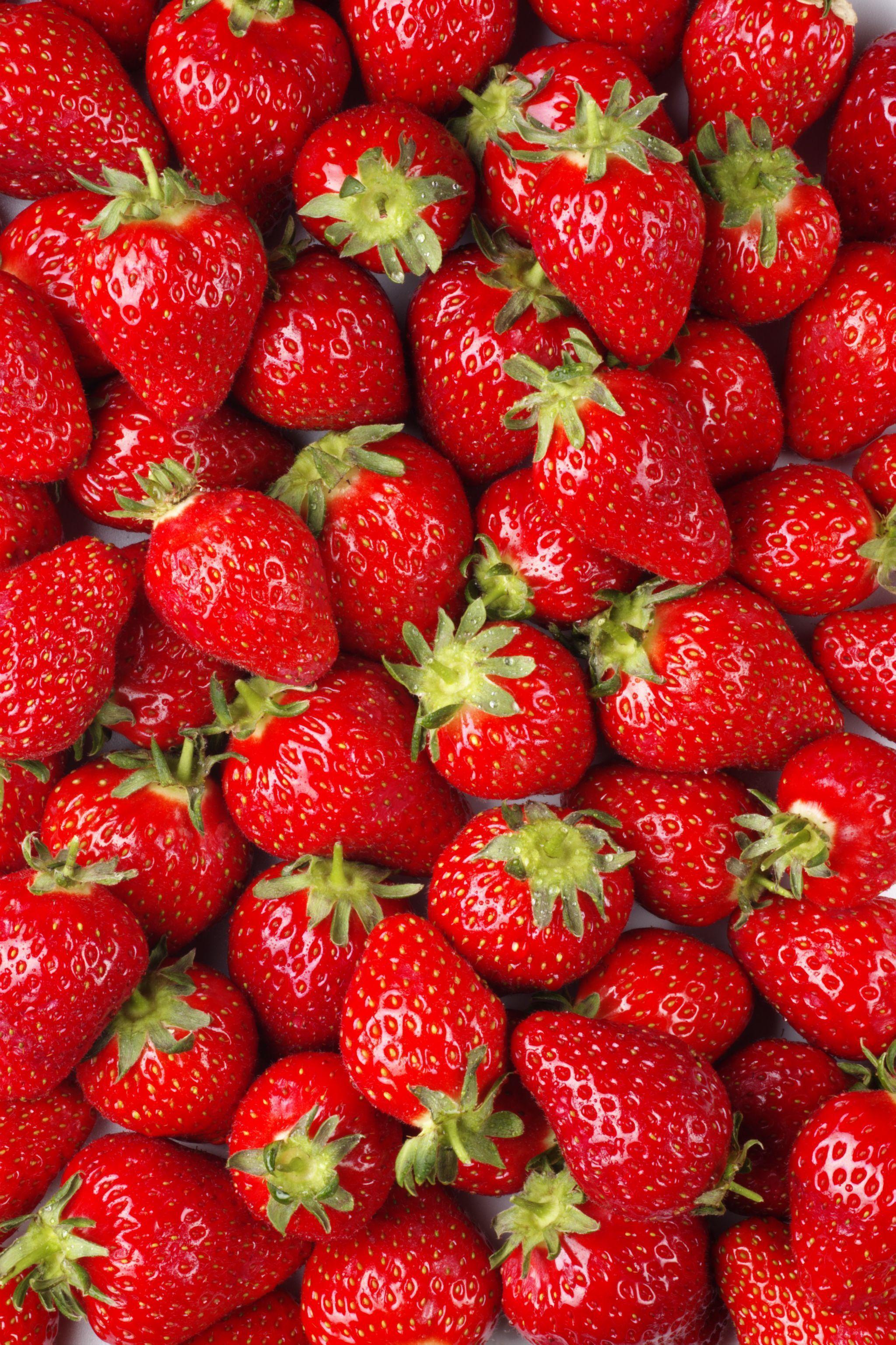Strawberries Wallpapers Wallpaper Cave
