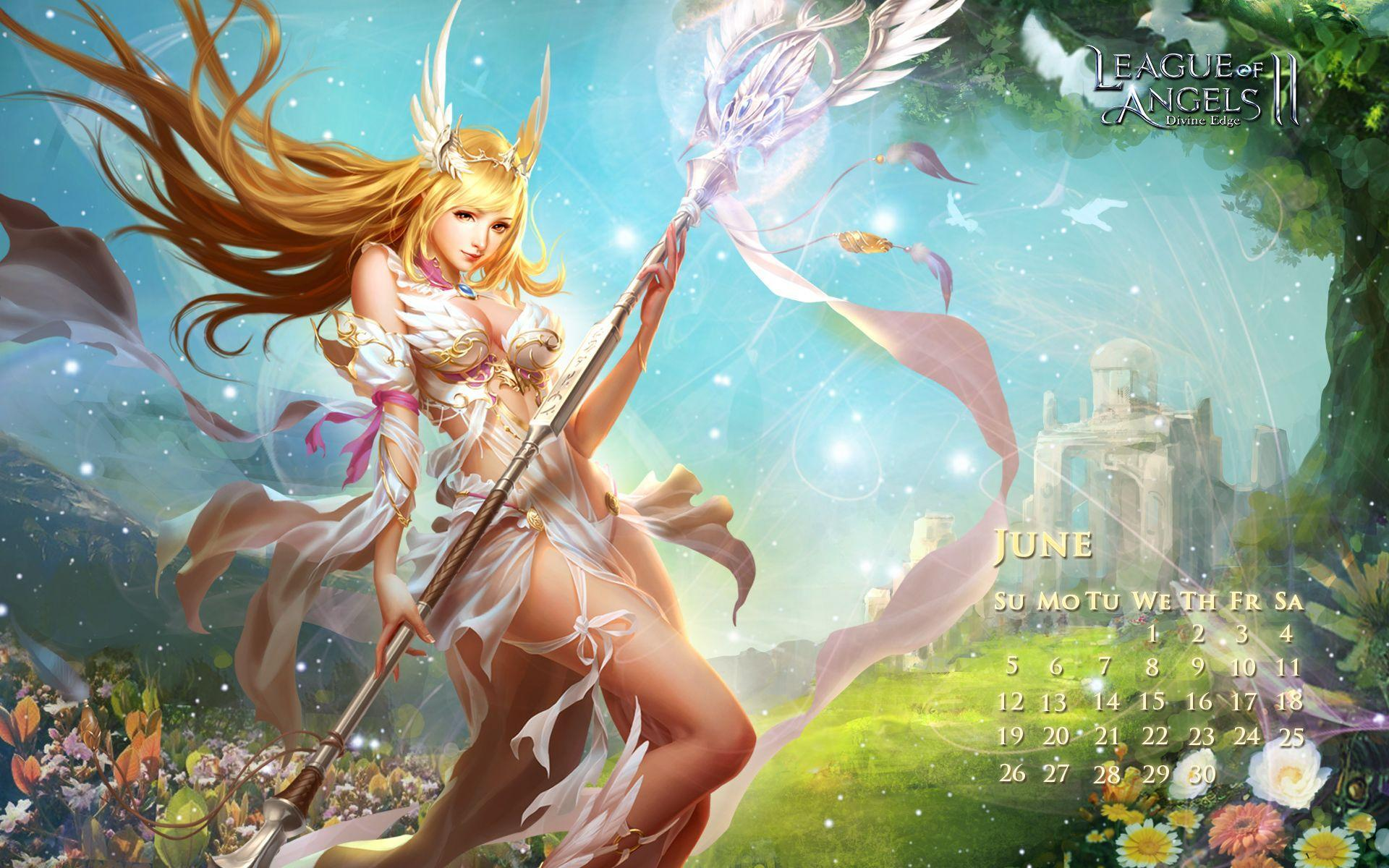 League Of Angels Wallpapers Wallpaper Cave