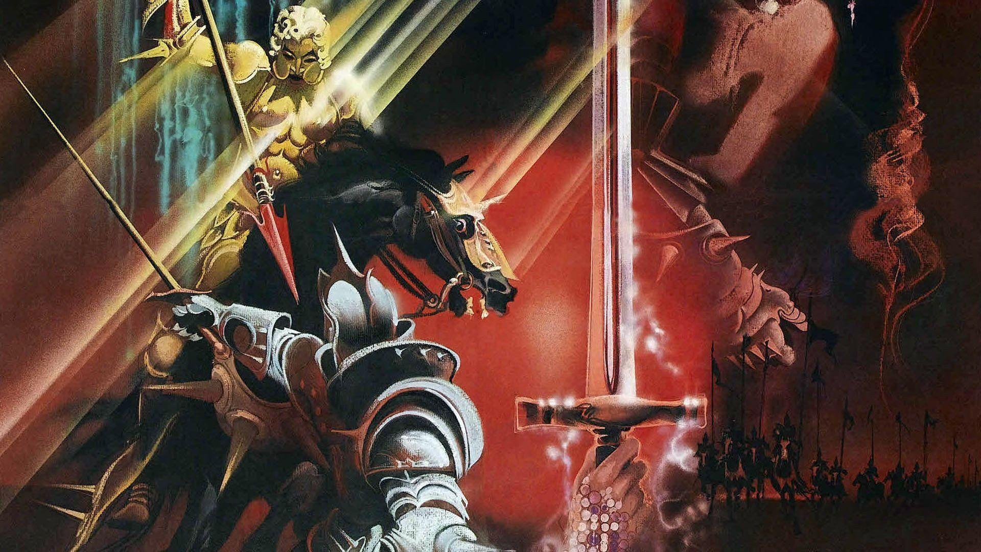 a review of the film excalibur Movie reviews for excalibur mrqe metric: see what the critics had to say and watch the trailer.