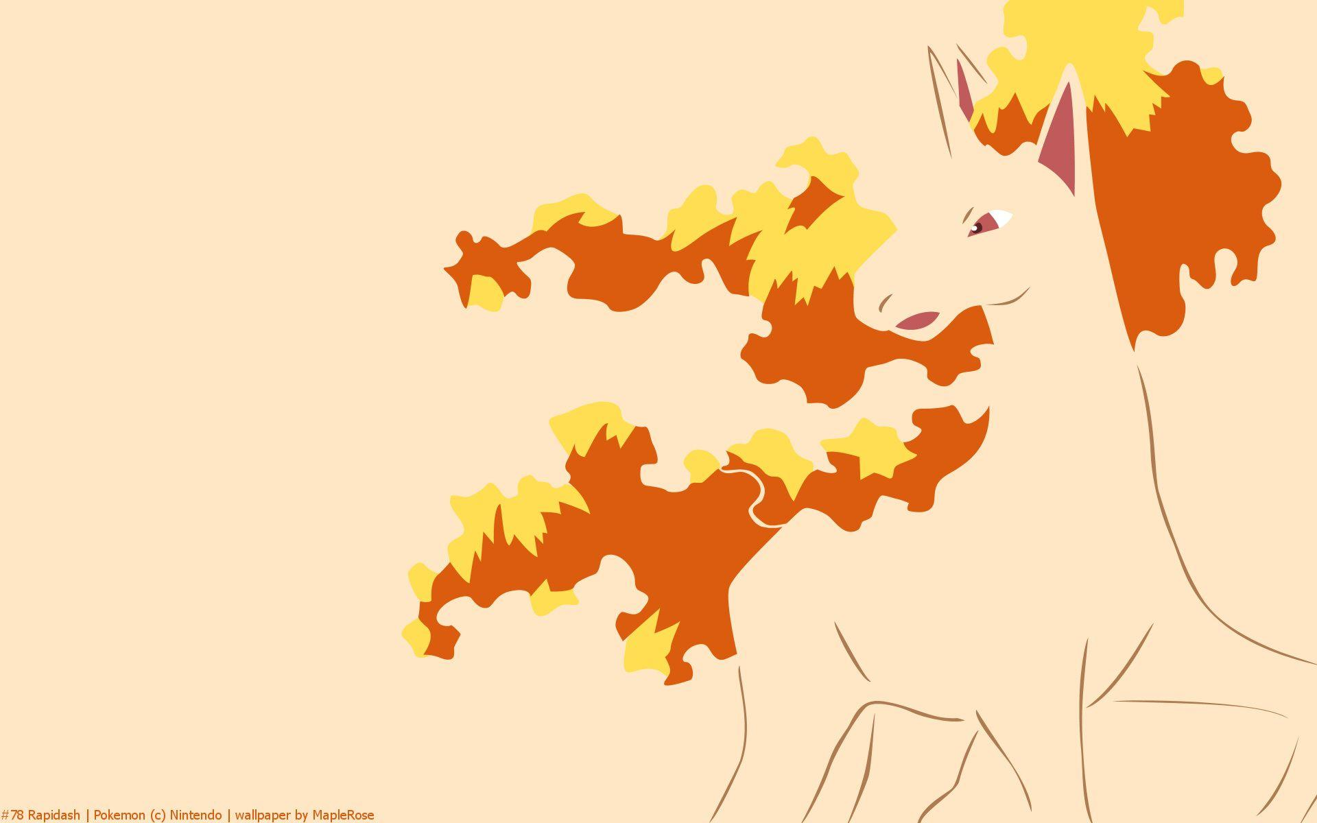 Rapidash Pokemon HD Wallpaper - Free HD wallpapers, Iphone ...