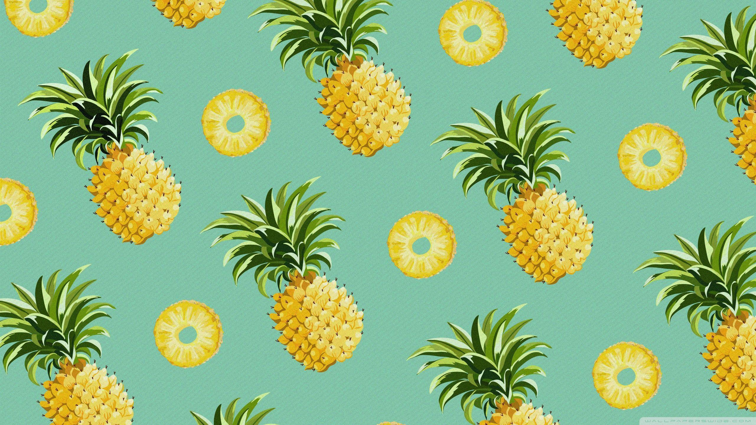 Pineapples 4K HD Desktop Wallpaper For Ultra TV O Dual