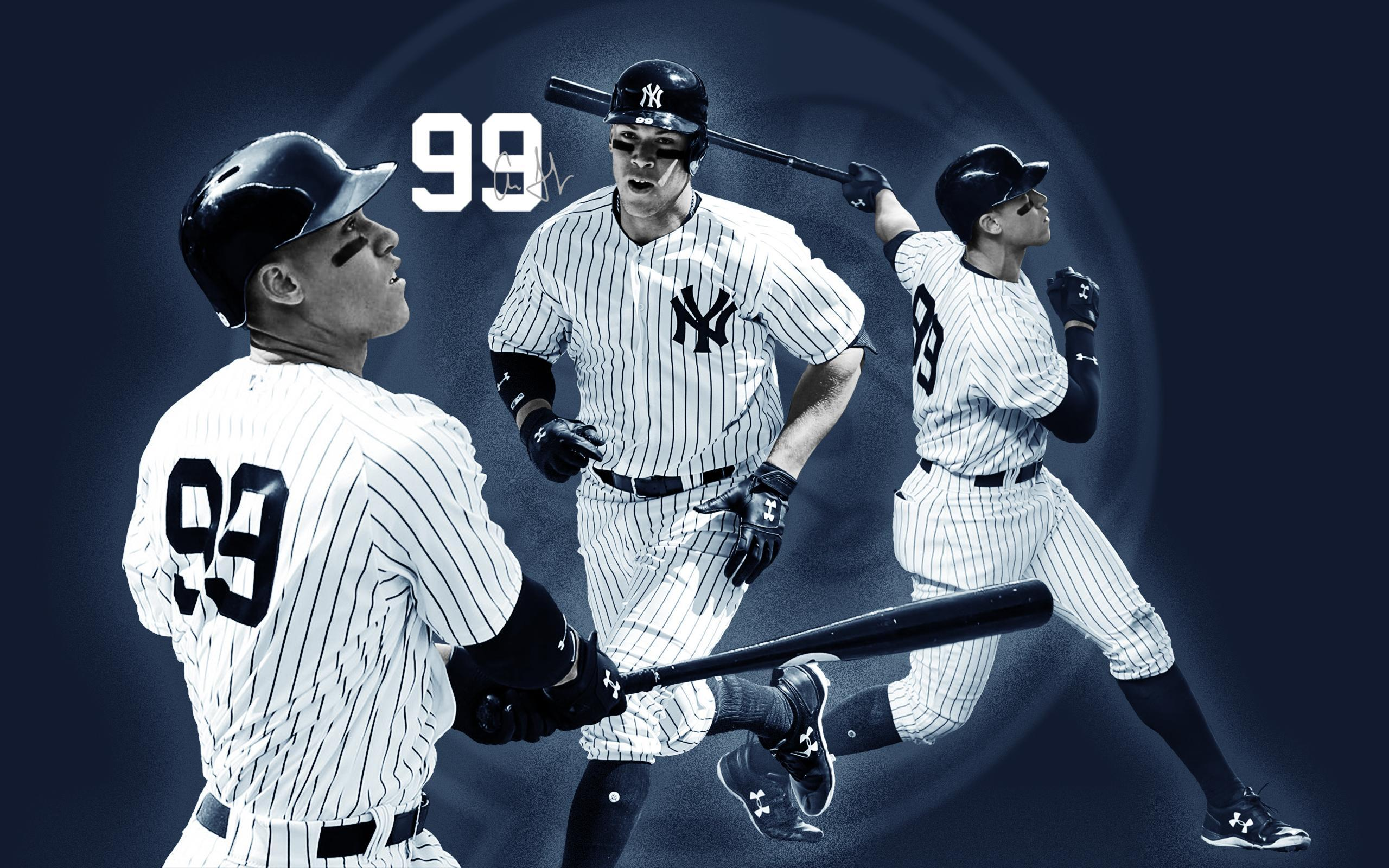 Made this Aaron Judge desktop wallpapers today. [2560x1600] : yankees