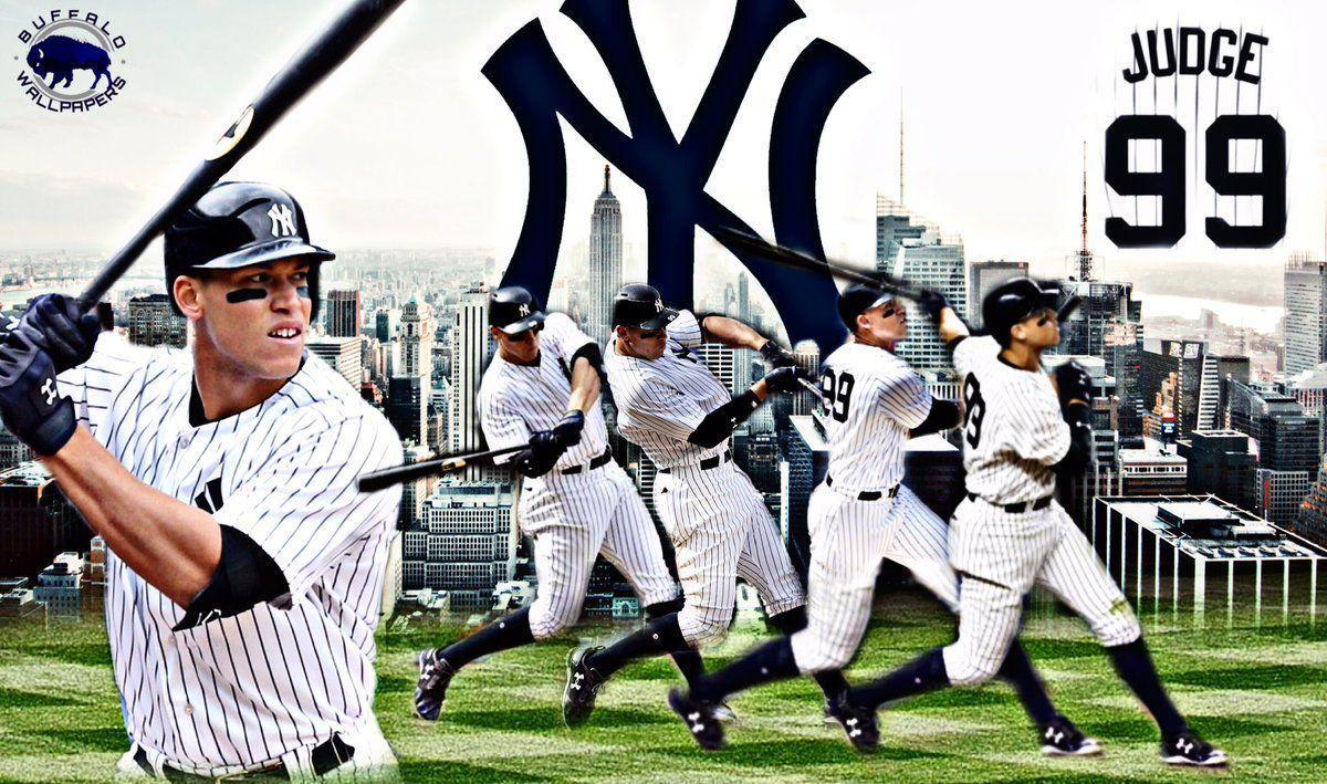 Buffalo Wallpapers on Twitter: Aaron judge New York Yankees
