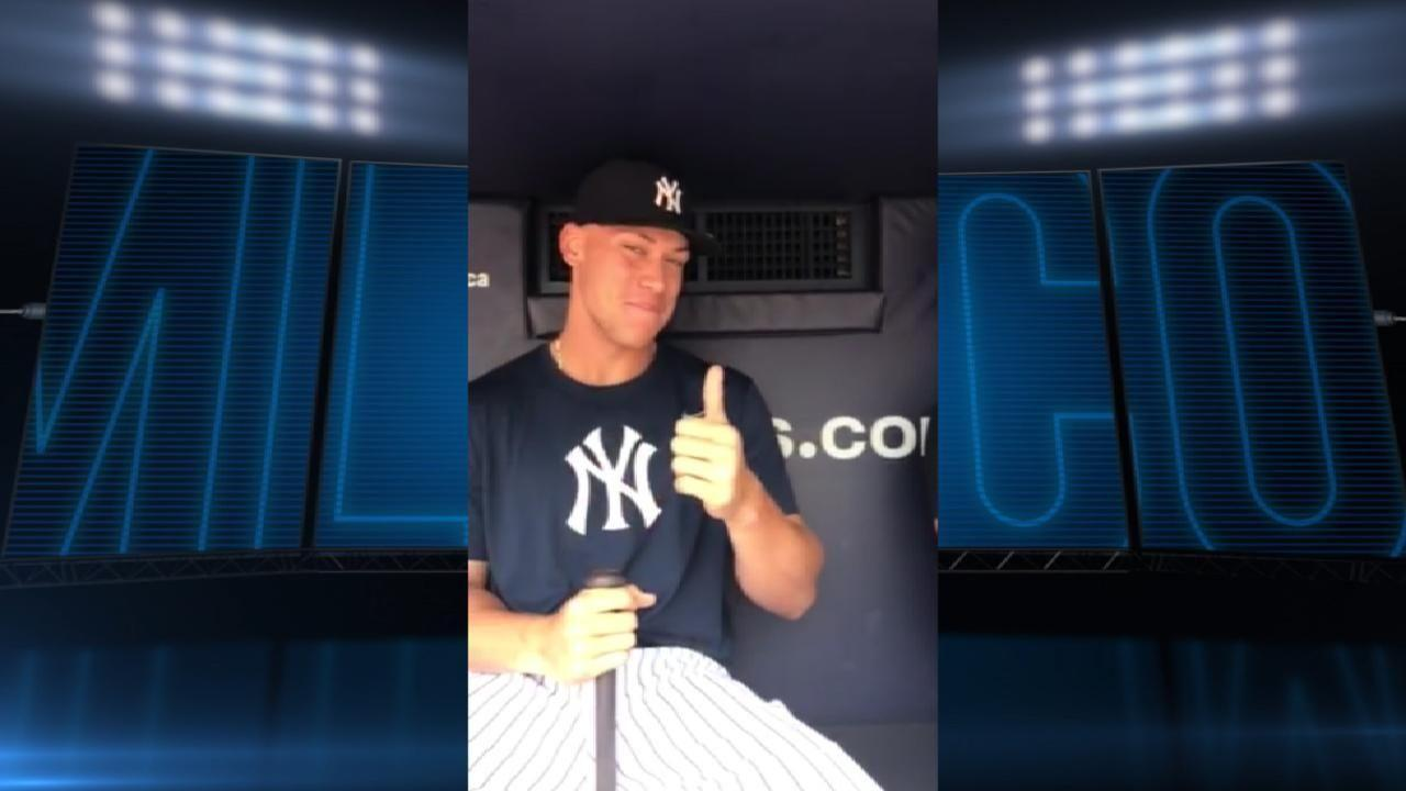 Aaron Judge, Gary Sanchez in Home Run Derby