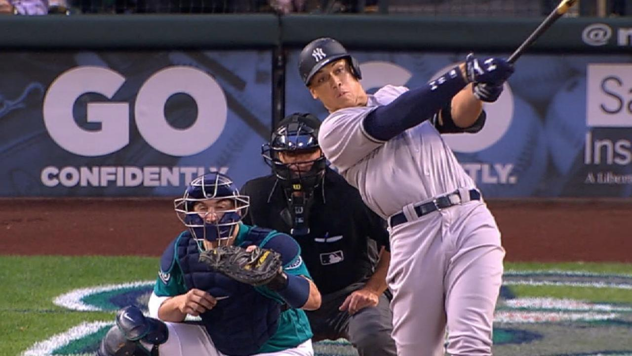 Aaron Judge homer gives Sabathia W vs Mariners