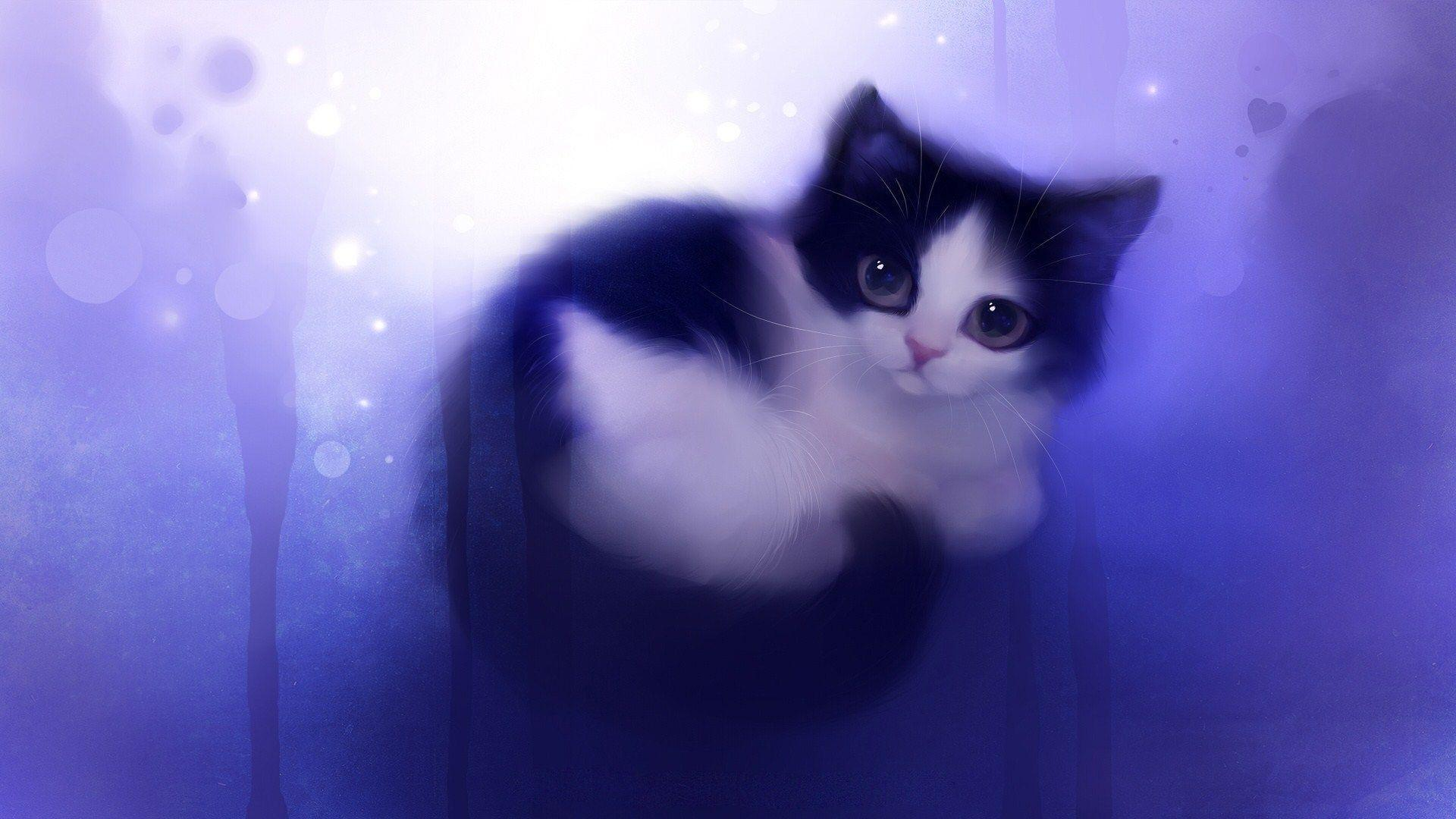 Anime Cats Wallpapers - Wallpaper Cave