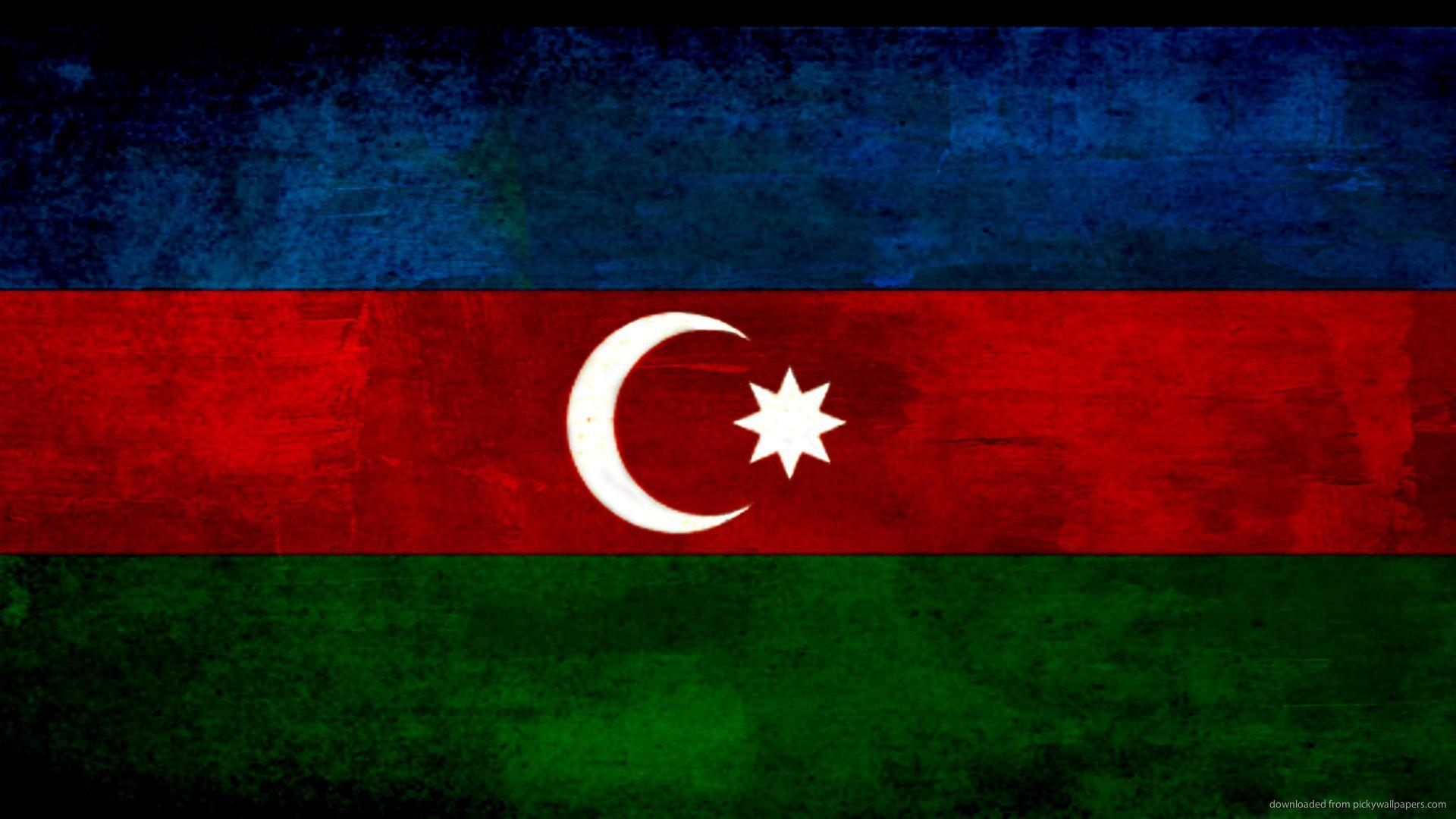HD Azerbaijan Flag Wallpaper