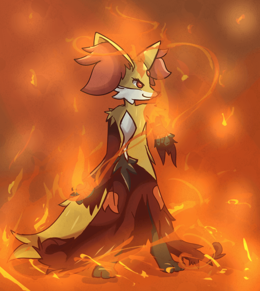 Images of Delphox Wallpaper - #SpaceHero