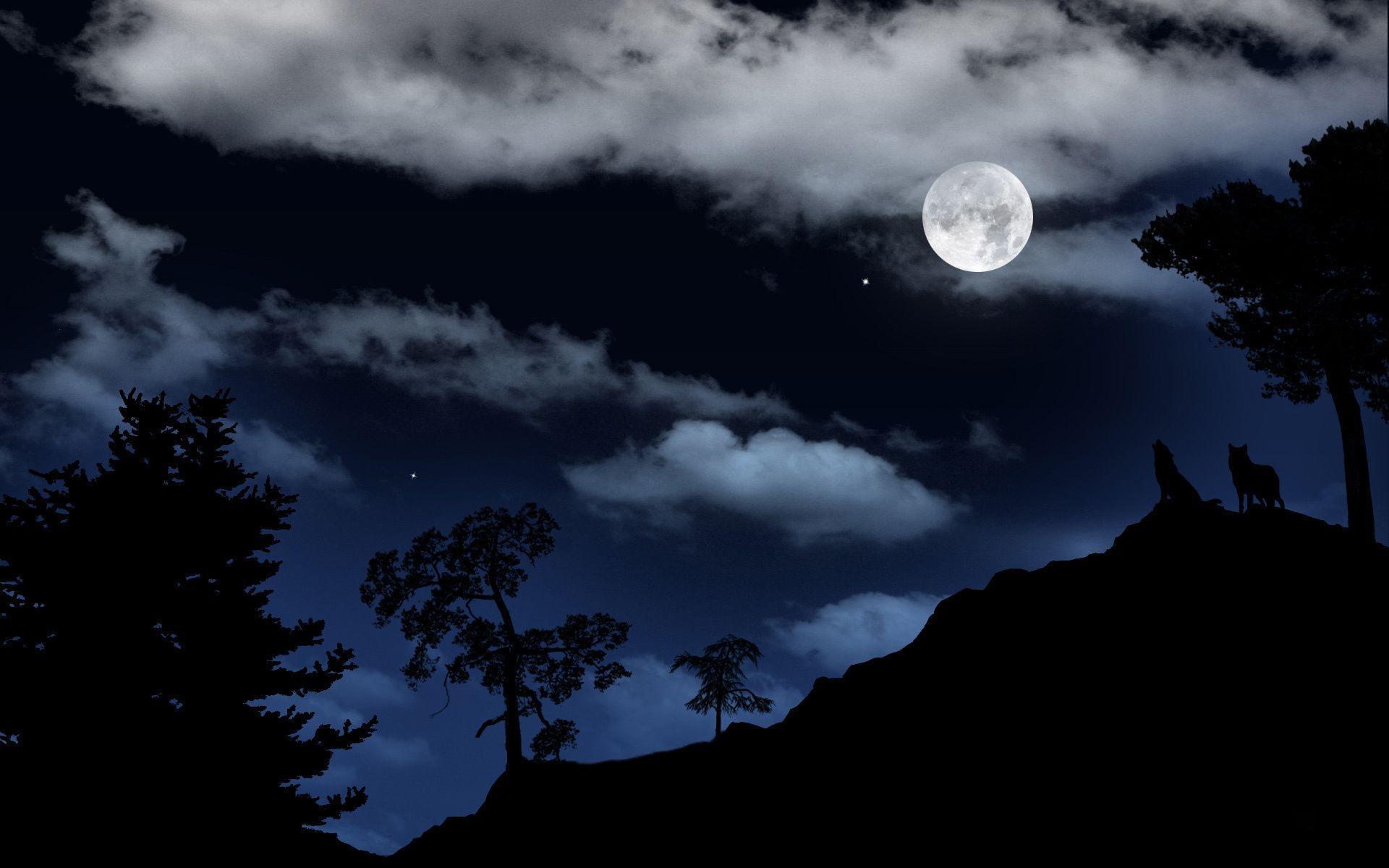Dark Moon Wallpapers - Wallpaper Cave