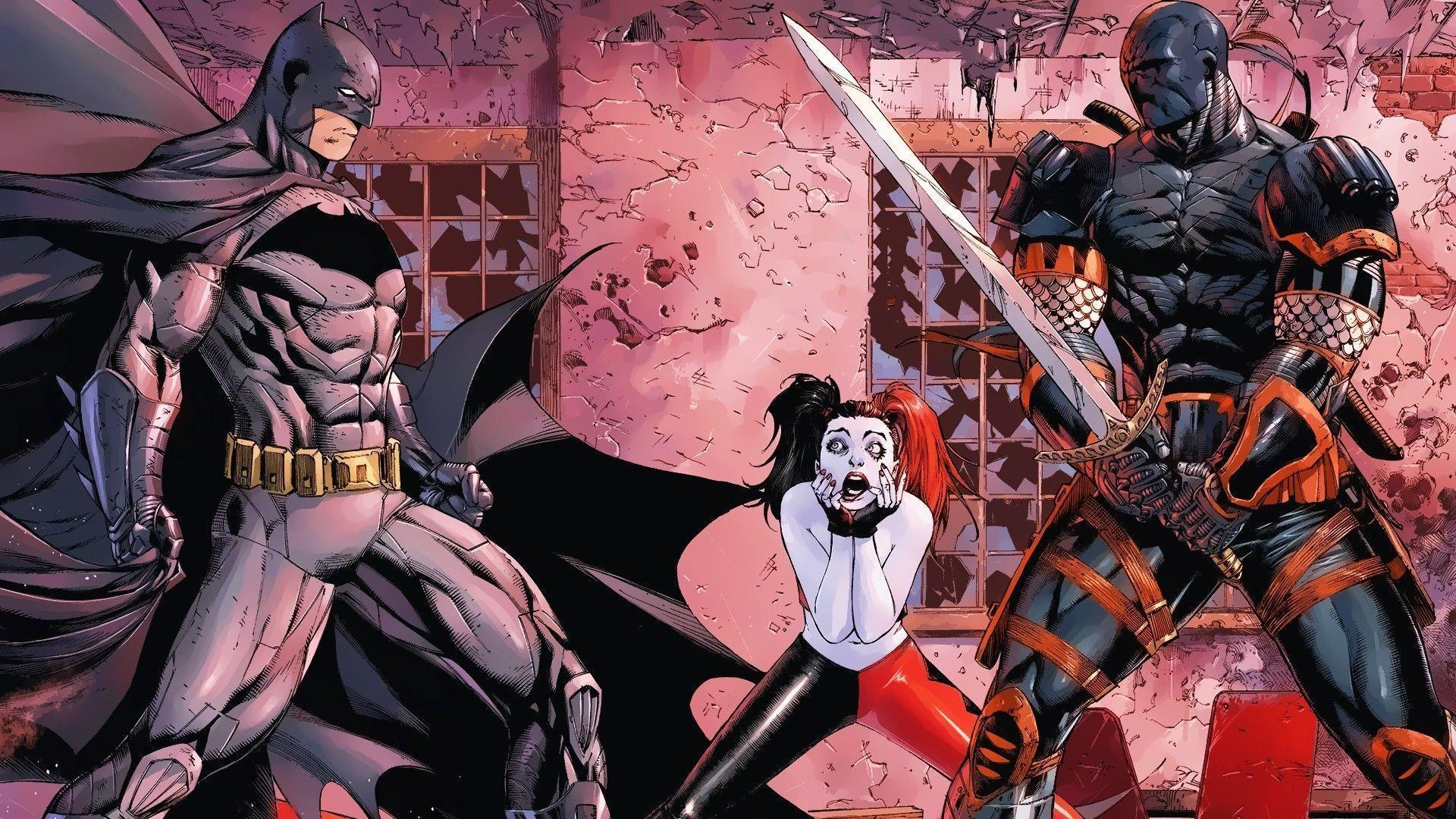 Batman And Harley Quinn Wallpapers Wallpaper Cave