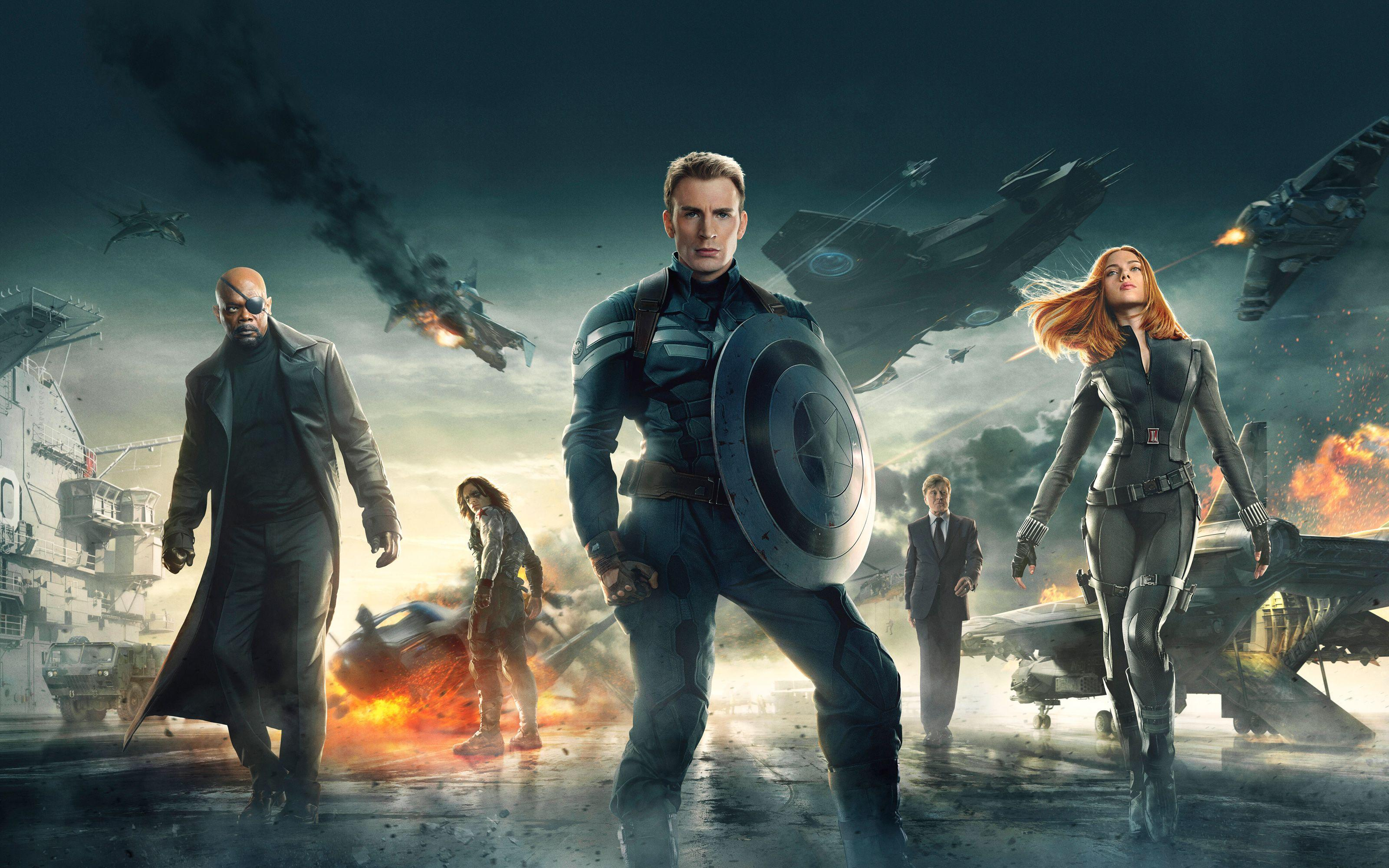 Movie Captain America: The Winter Soldier wallpapers
