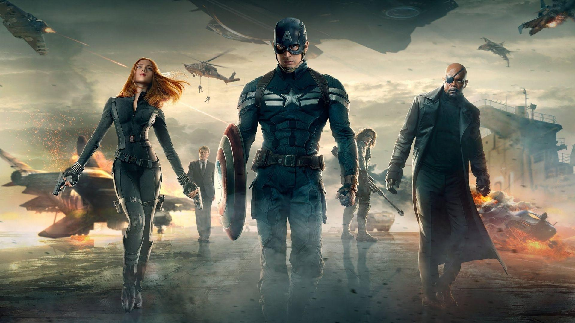Captain America: The Winter Soldier Movie Wallpapers