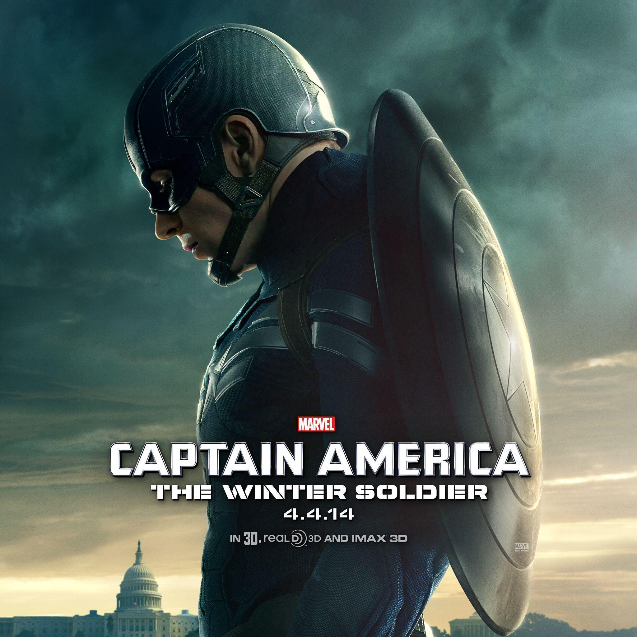 Get Scarlett Johansson's poster/wallpaper for Captain America 2 ...