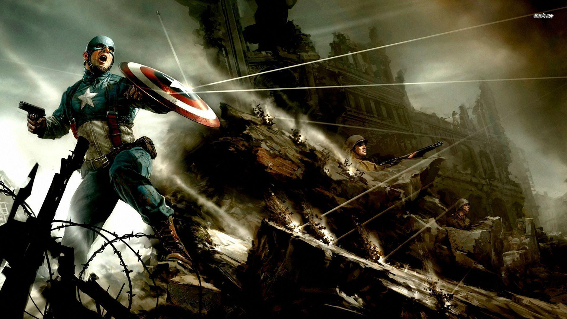 Captain America The Winter Soldier Wallpapers 1080p