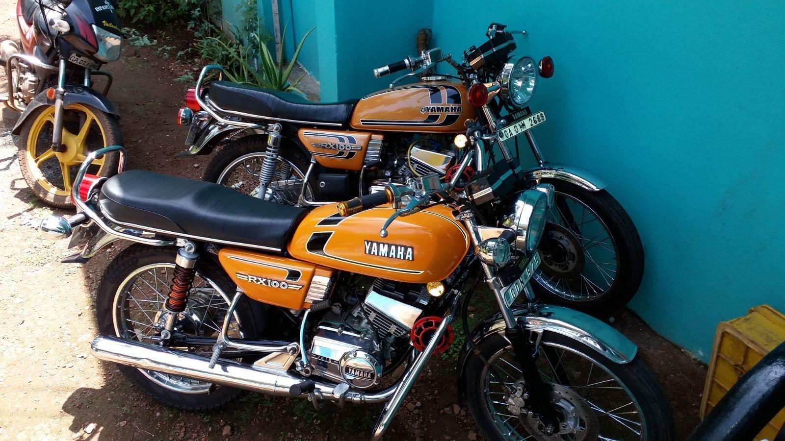 Yamaha RX100 Wallpapers