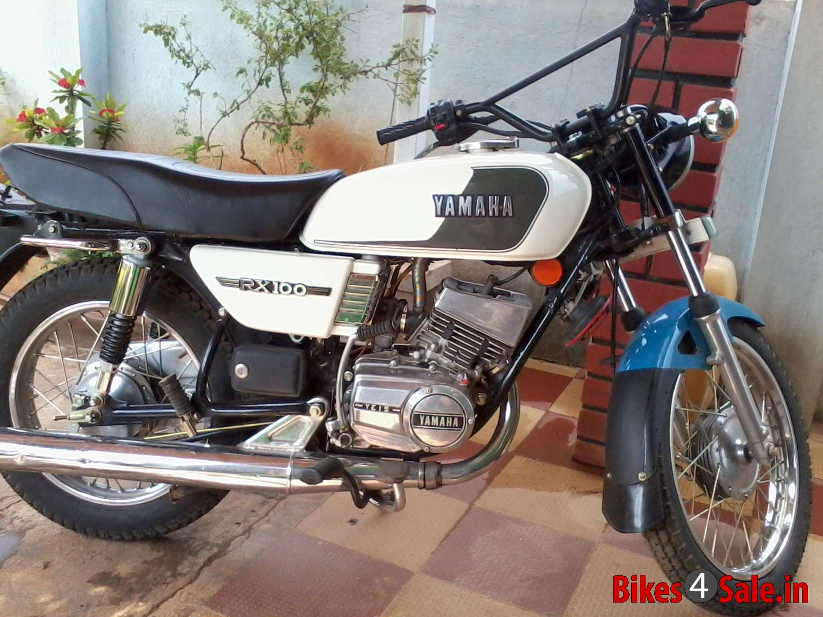 Black Colour Rx 100