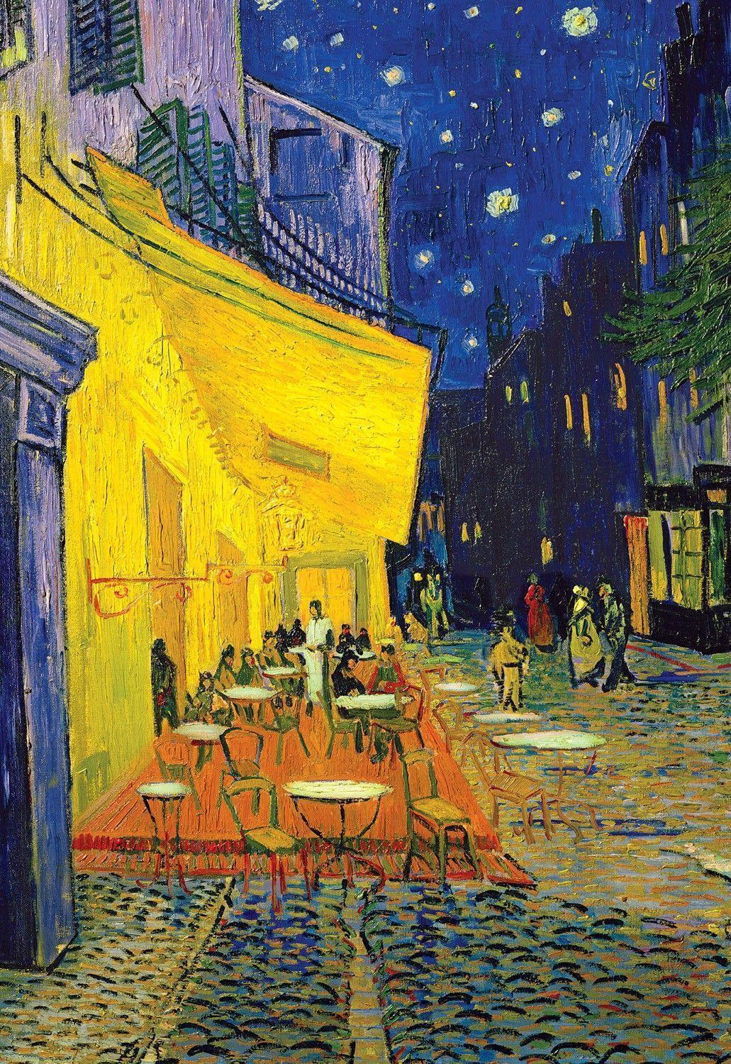 Vincent Van Gogh Cafe Terrace At Night Wallpaper | Gallery