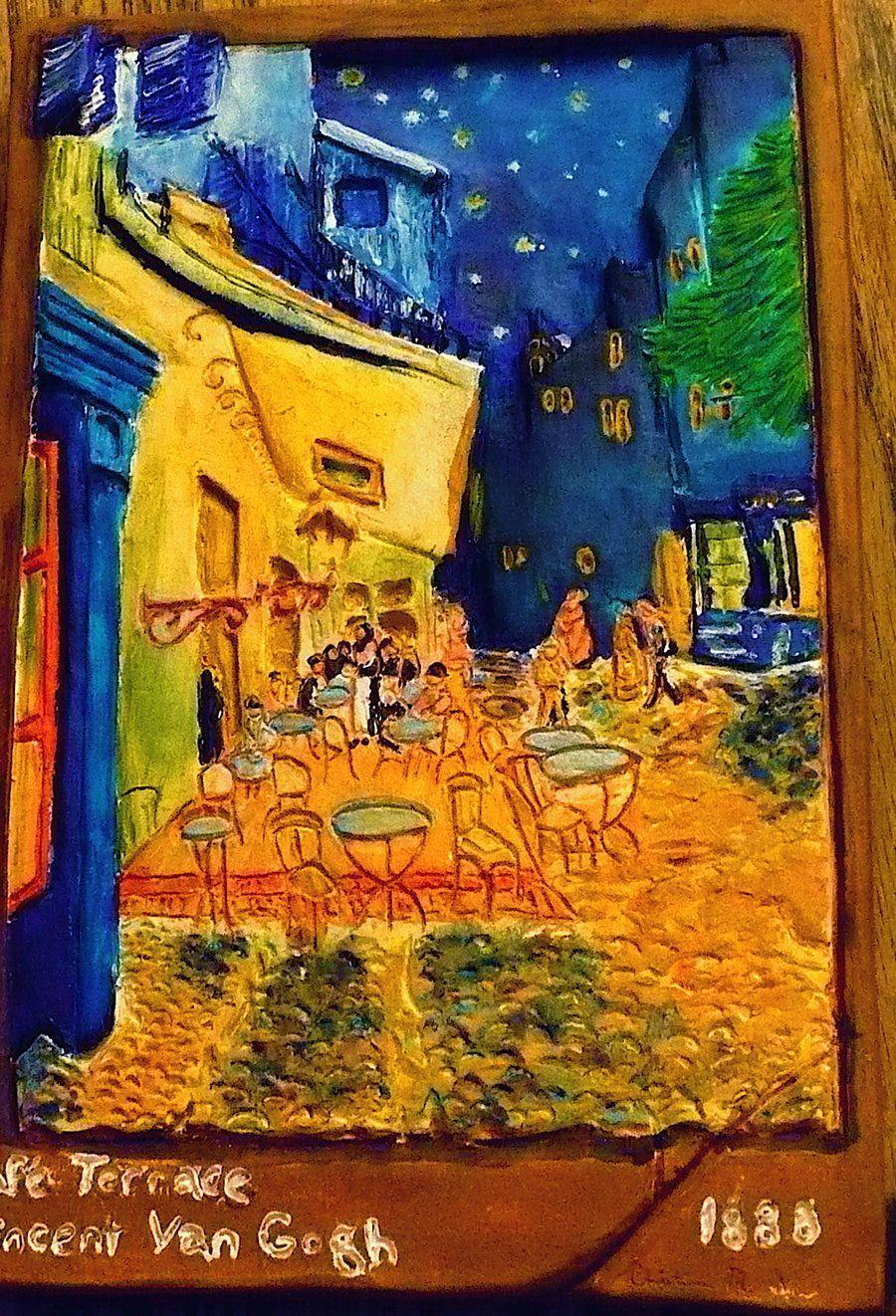 Van Gogh Caf 233 Terrace At Night Wallpapers Wallpaper Cave