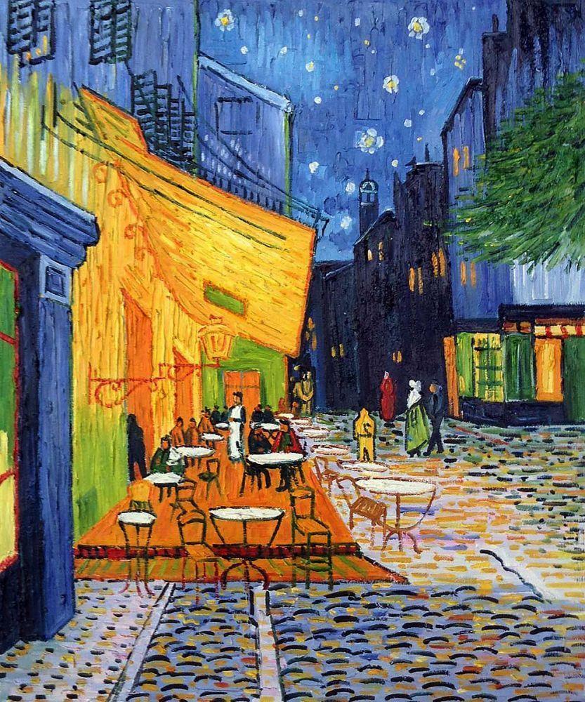 Van Gogh Wallpaper: Van Gogh Café Terrace At Night Wallpapers