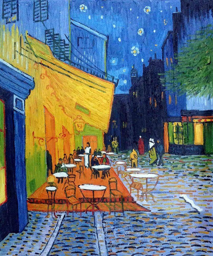 Van Gogh Caf 233 Terrace At Night Wallpapers Wallpaper Cave