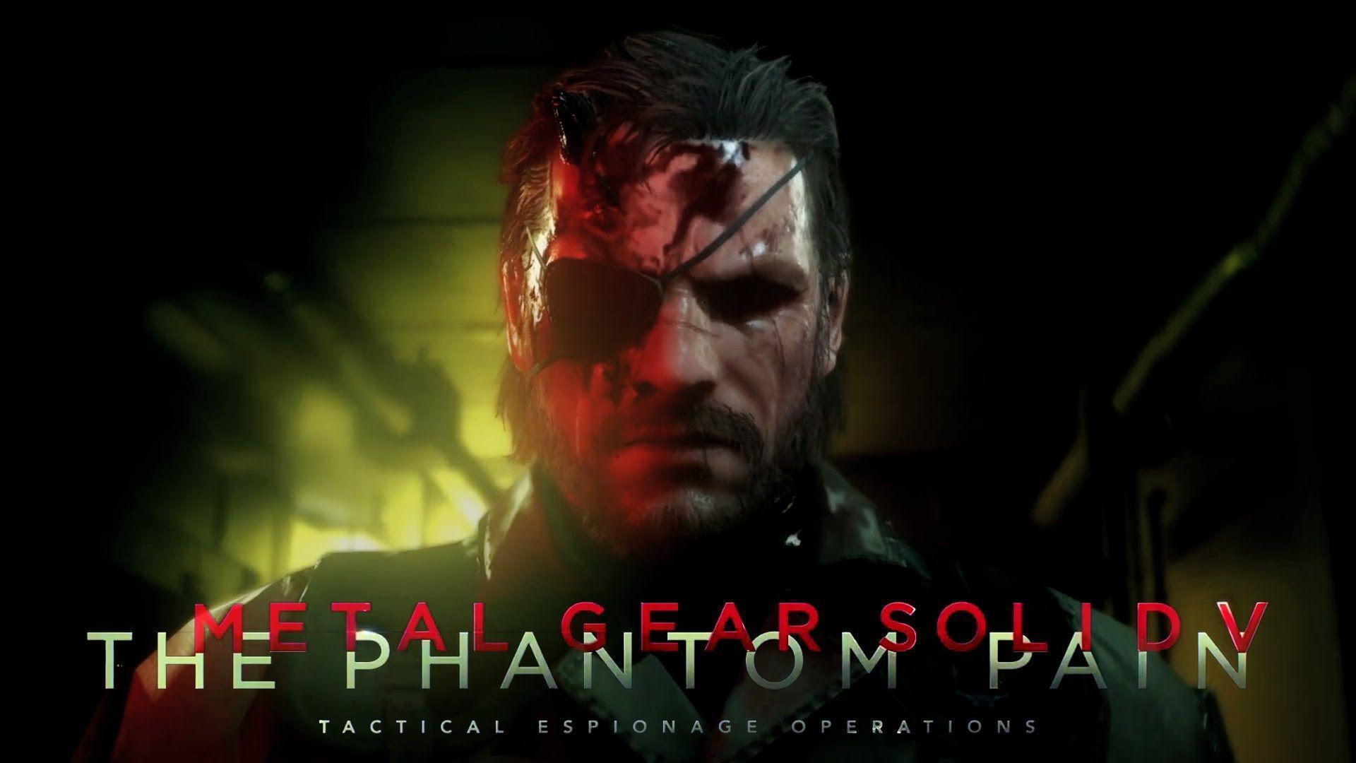 Metal Gear Solid V The Phantom Pain Hd Wallpapers Wallpaper Cave