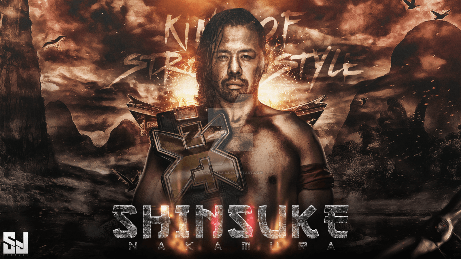 Shinsuke Nakamura Wallpapers By Sj by Sjstyles316