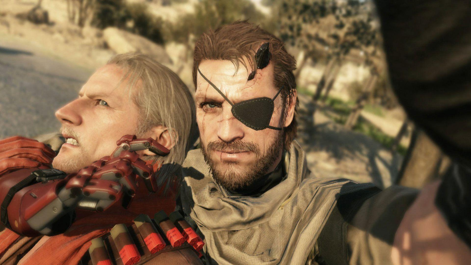 2016 Games Metal Gear Solid V The Phantom Pain HD Wallpapers