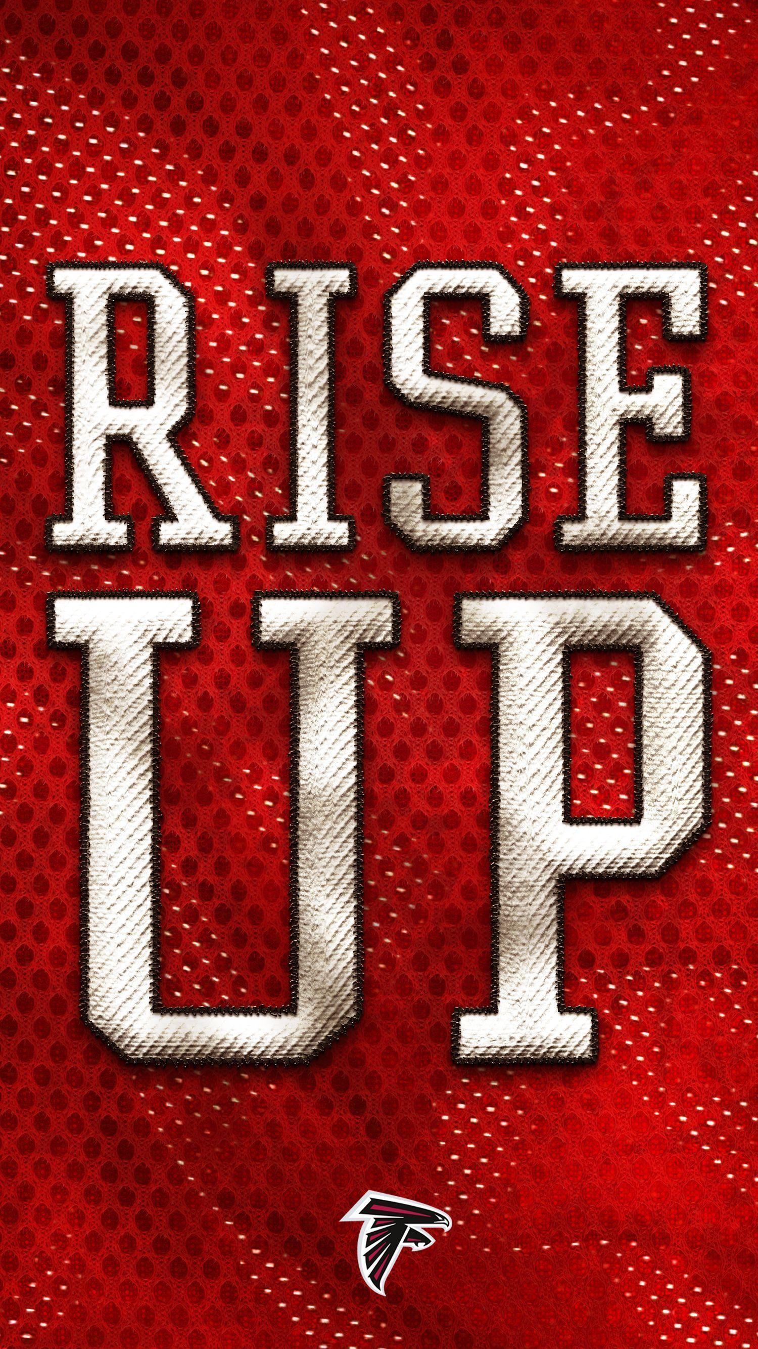 Atlanta Falcons Fans: rise up and grab this smartphone wallpapers
