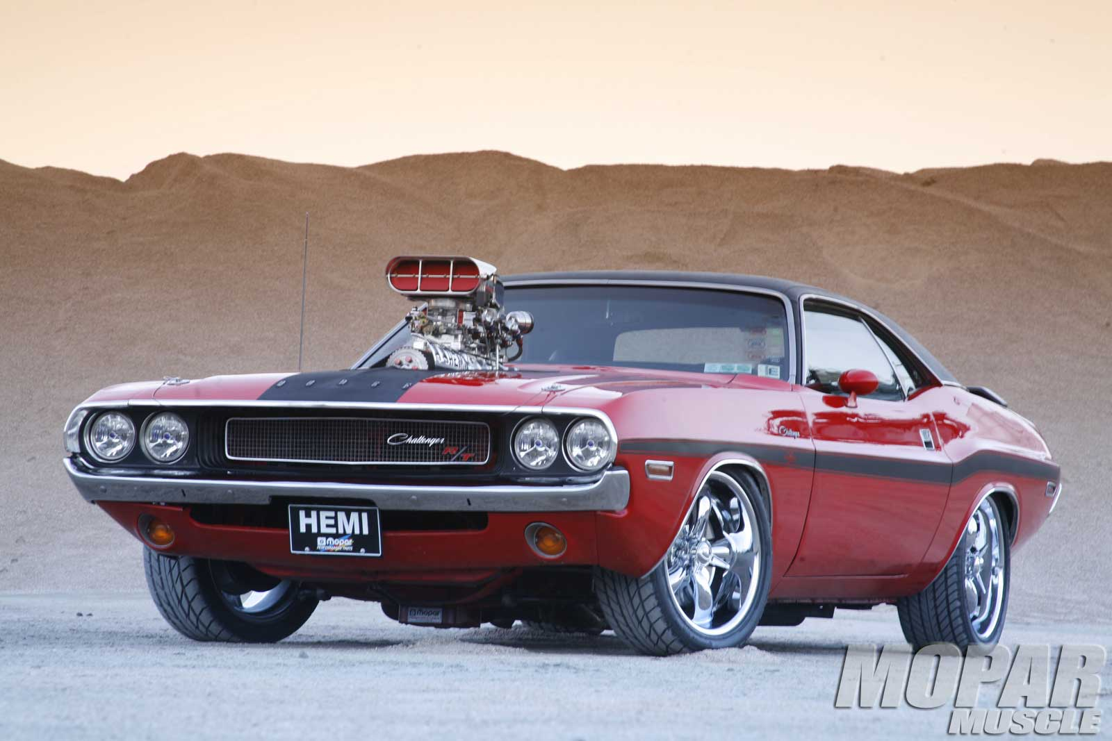 1970 Dodge Challenger Flat