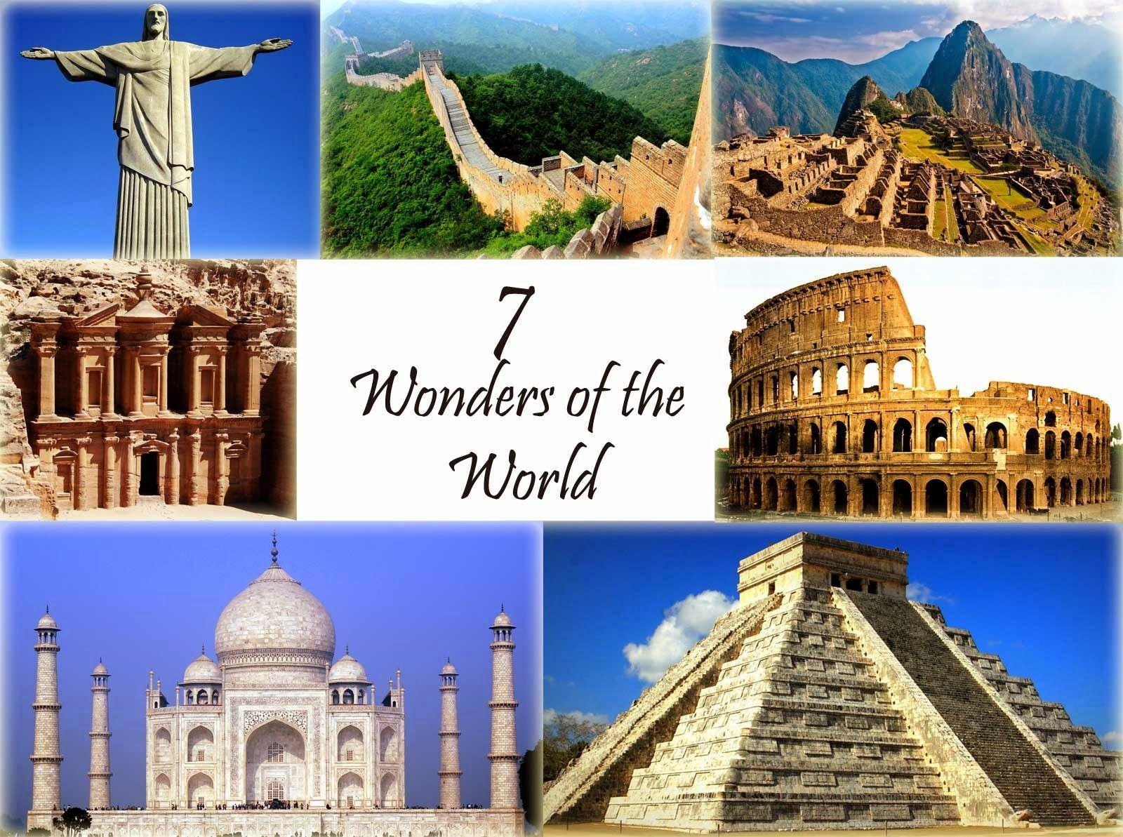 7 wonders of the world images download