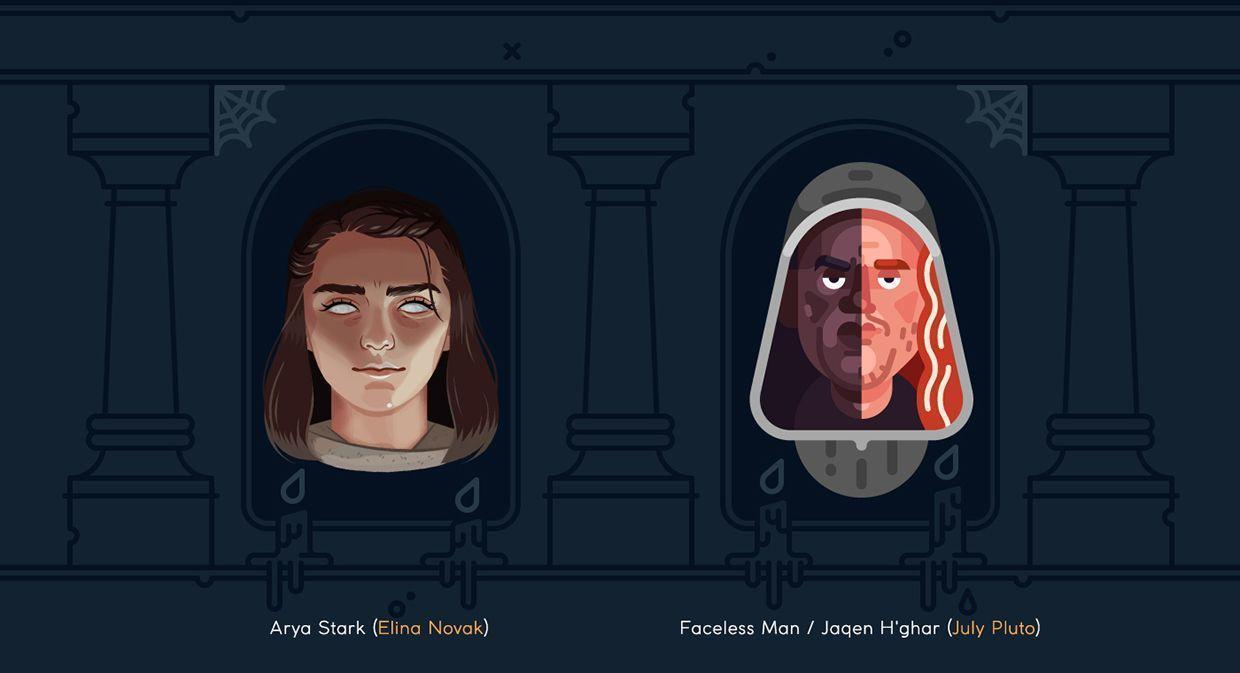faceless man game of thrones wallpapers wallpaper cave