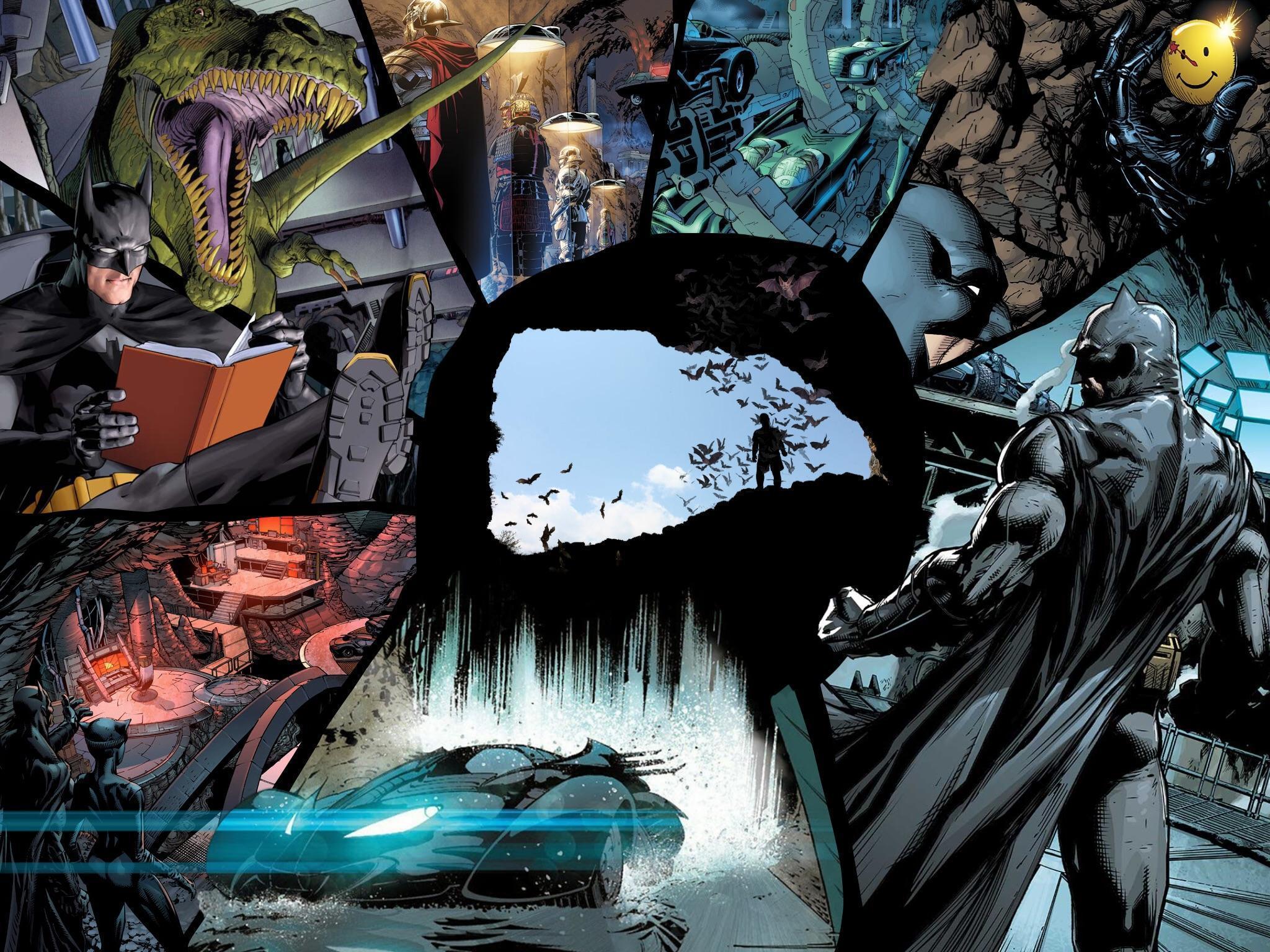 Inside The Batcave Wallpaper by me : batman