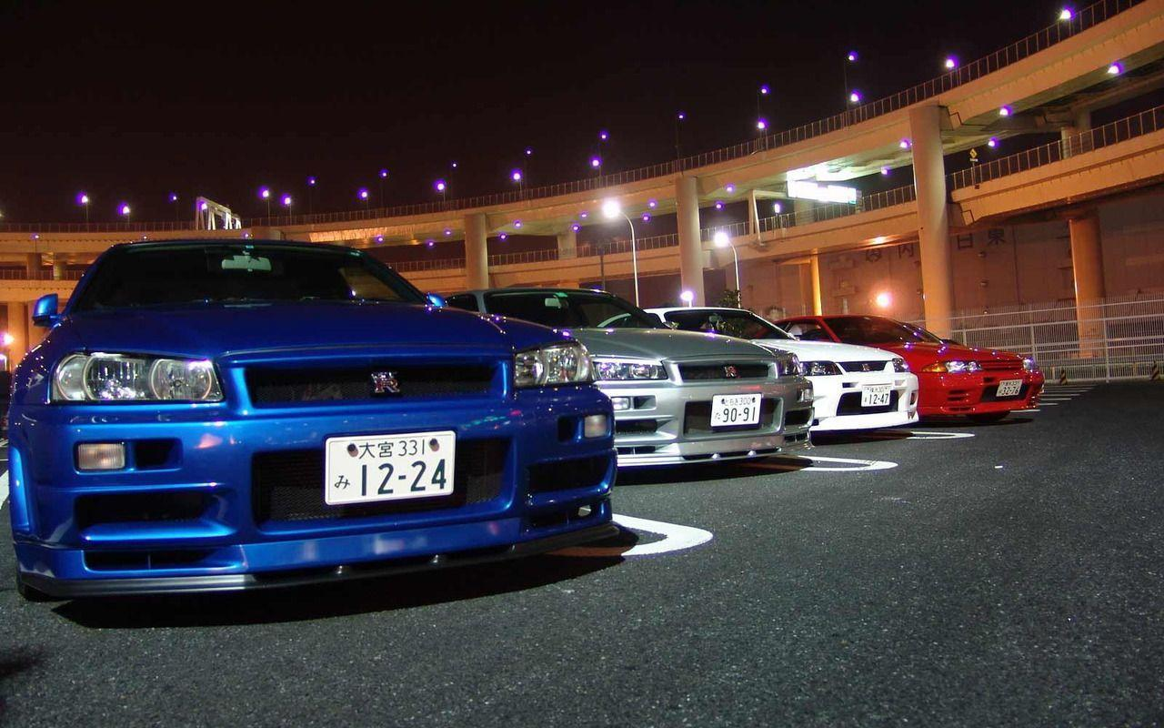 Cars and only Cars: Nissan Skyline Gtr r Wallpaper 969×546 Nissan ...