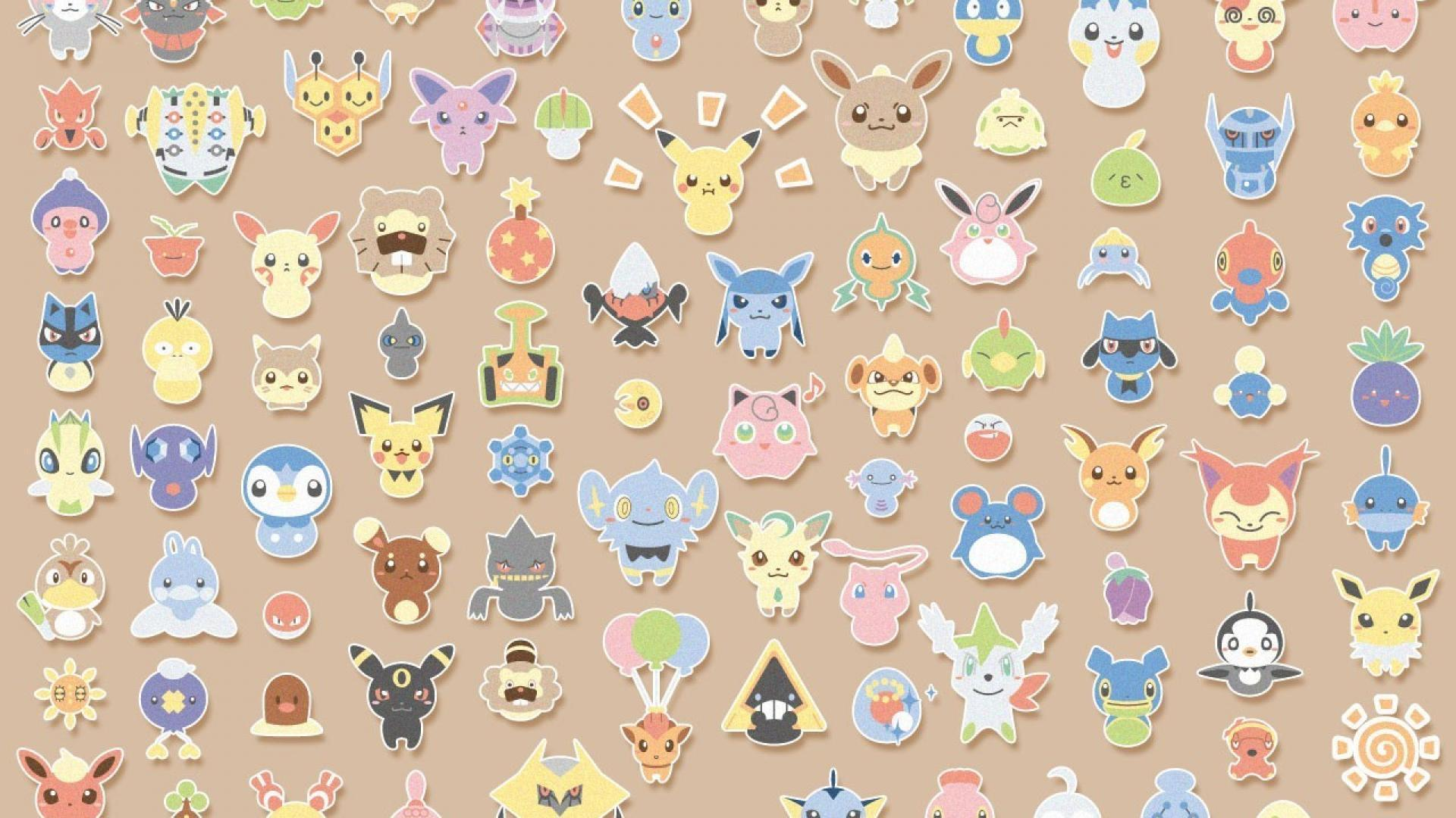 Castform riolu jirachi buneary pachirisu budew starly wallpapers
