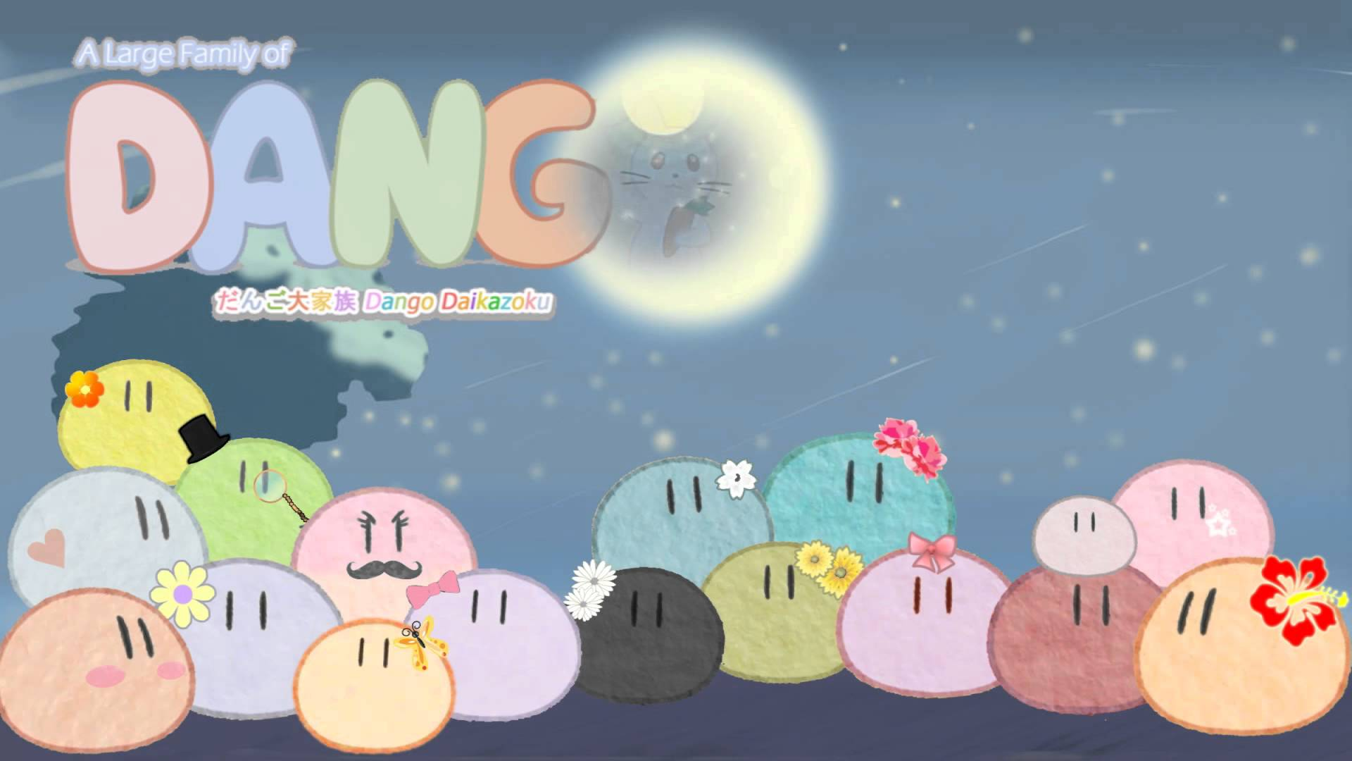 Dango Hd Wallpapers Wallpaper Cave