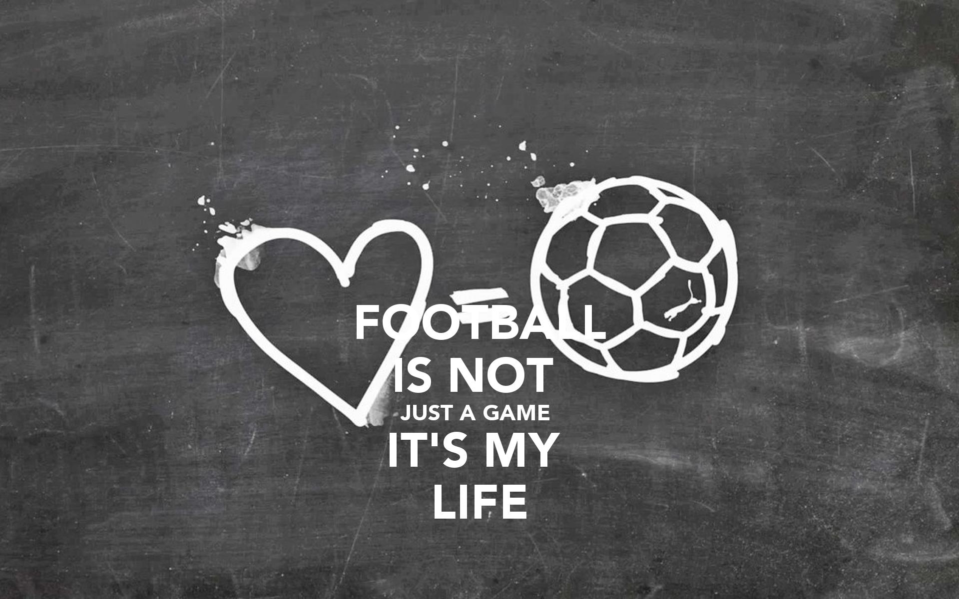 Soccer Is Life Wallpaper