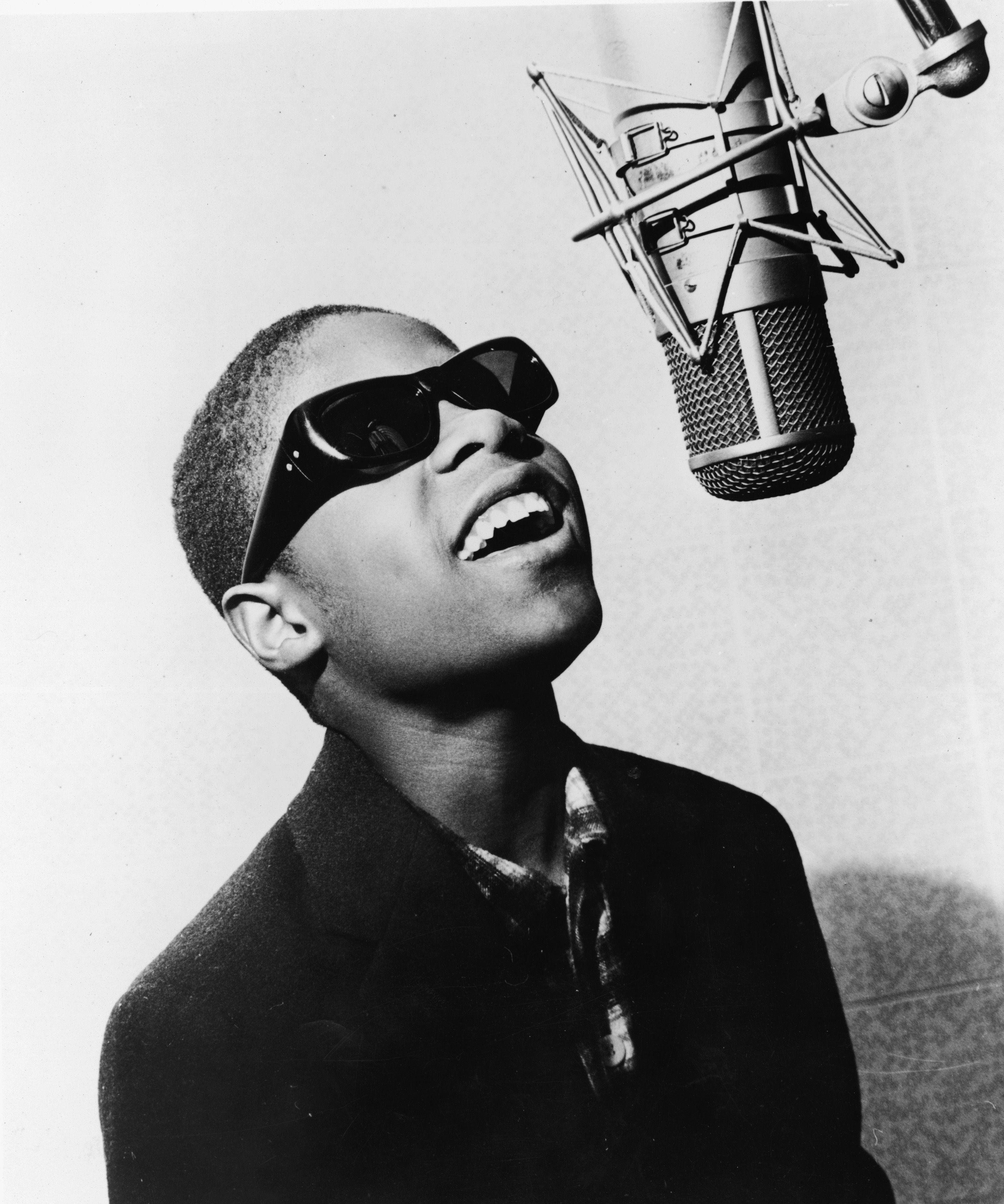 Picture suggestion for Stevie Wonder As A Little Kid